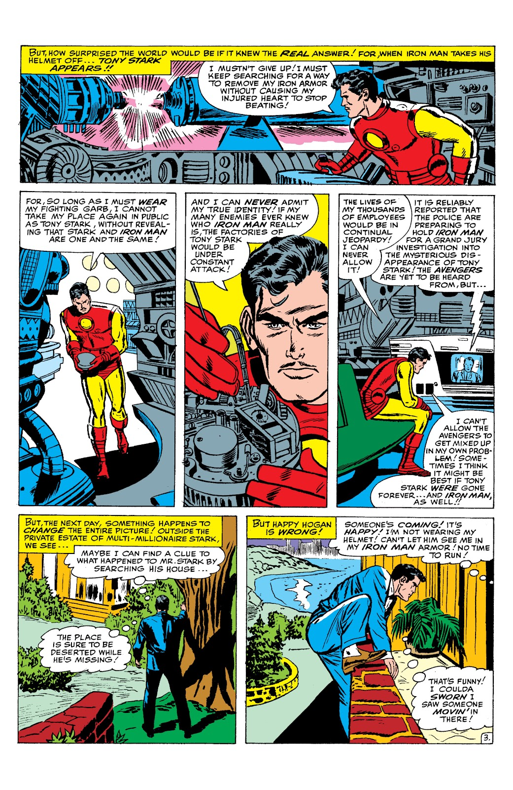 Read online Marvel Masterworks: The Invincible Iron Man comic -  Issue # TPB 2 (Part 2) - 74