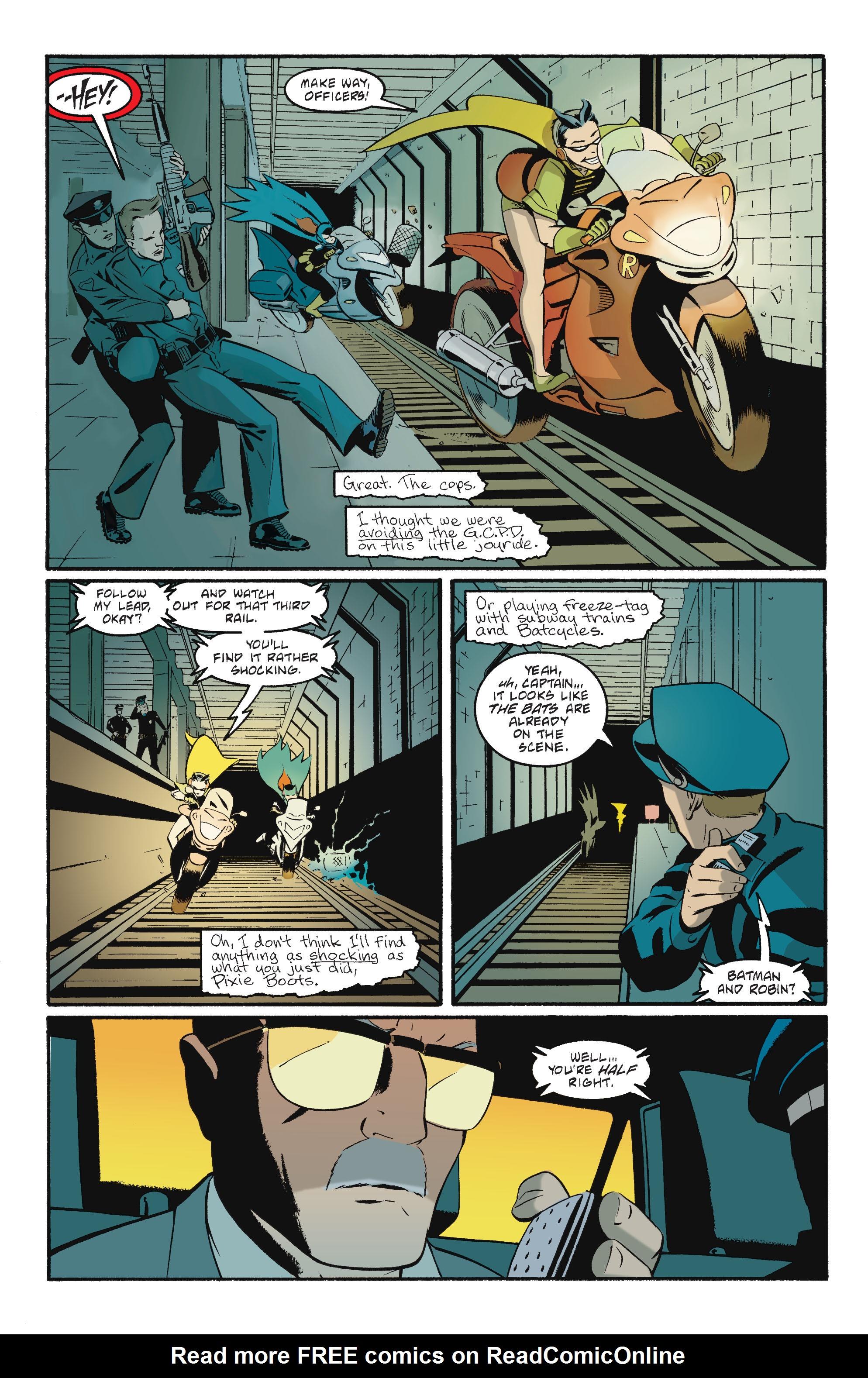 Read online Batgirl/Robin: Year One comic -  Issue # TPB 2 - 162