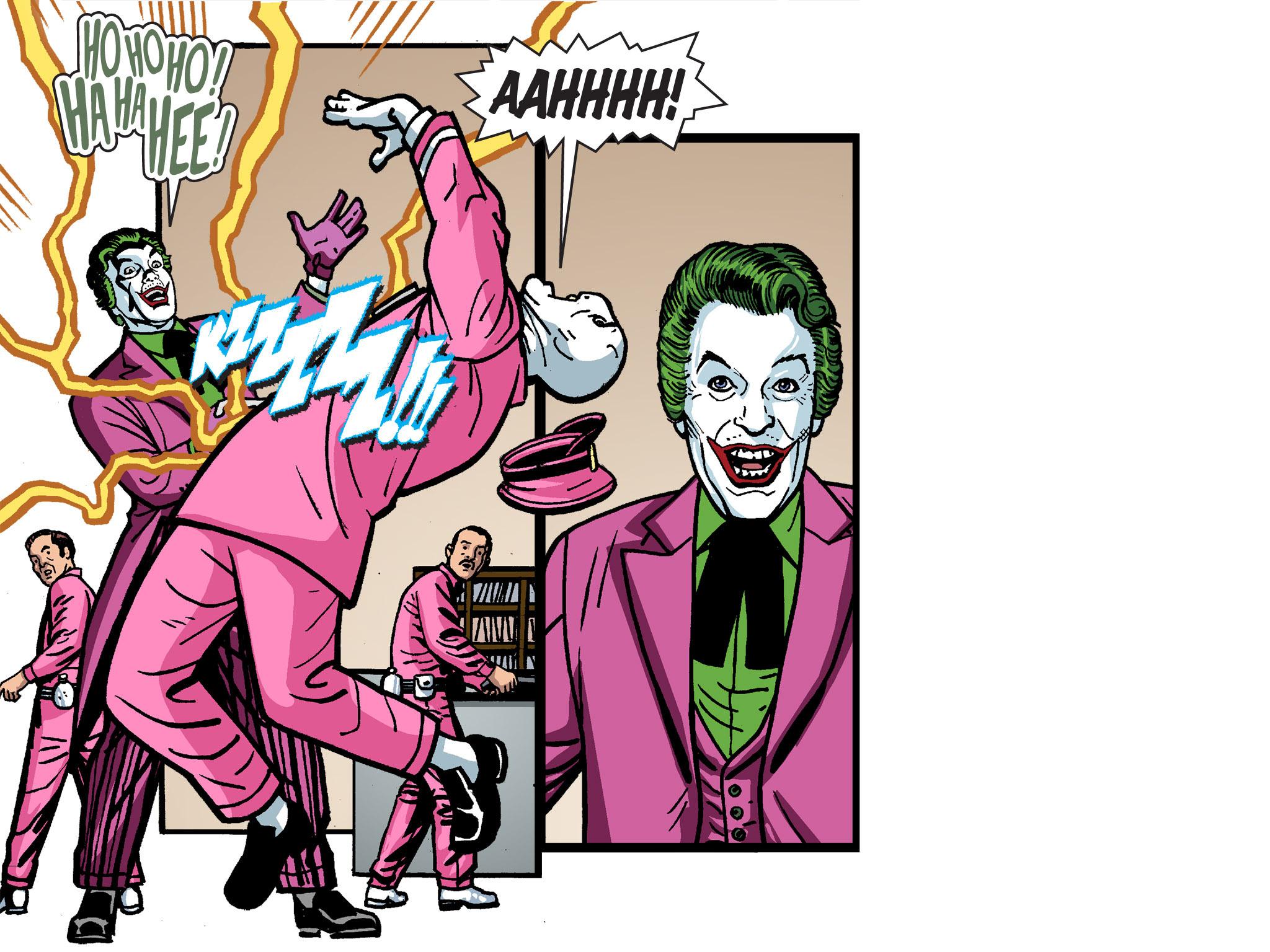 Read online Batman '66 Meets the Green Hornet [II] comic -  Issue #4 - 24