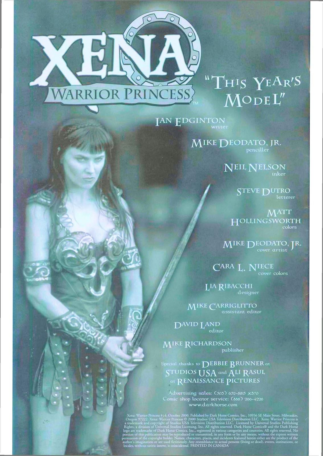 Xena: Warrior Princess (1999) Issue #14 #14 - English 3