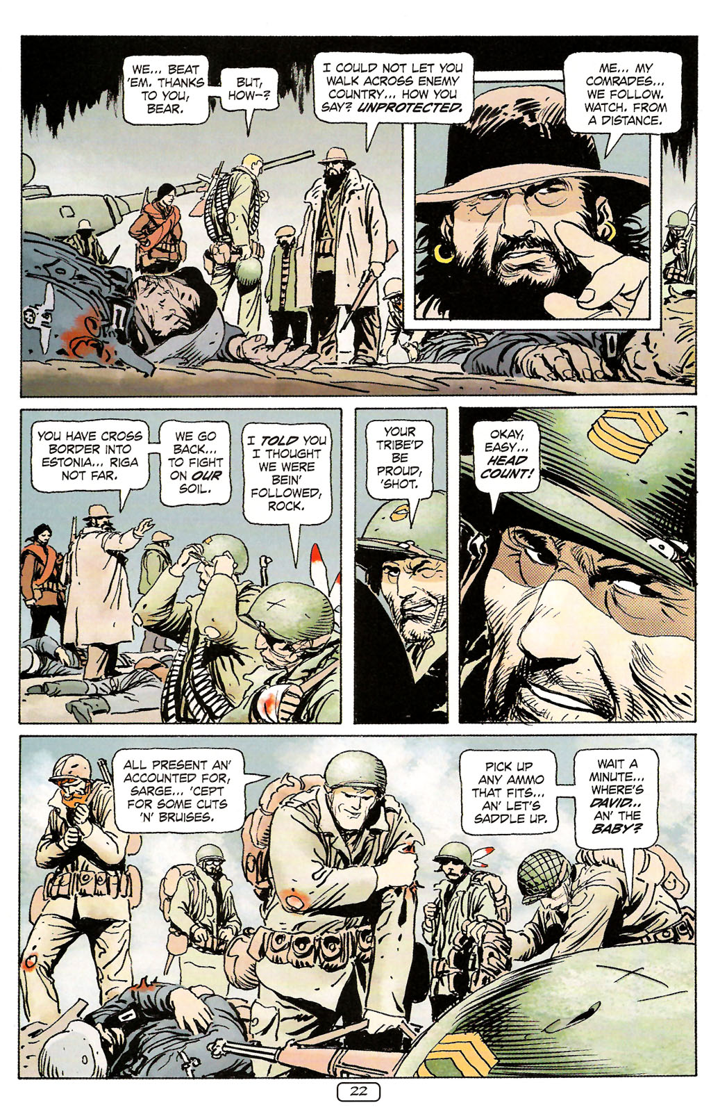 Read online Sgt. Rock: The Prophecy comic -  Issue #4 - 22