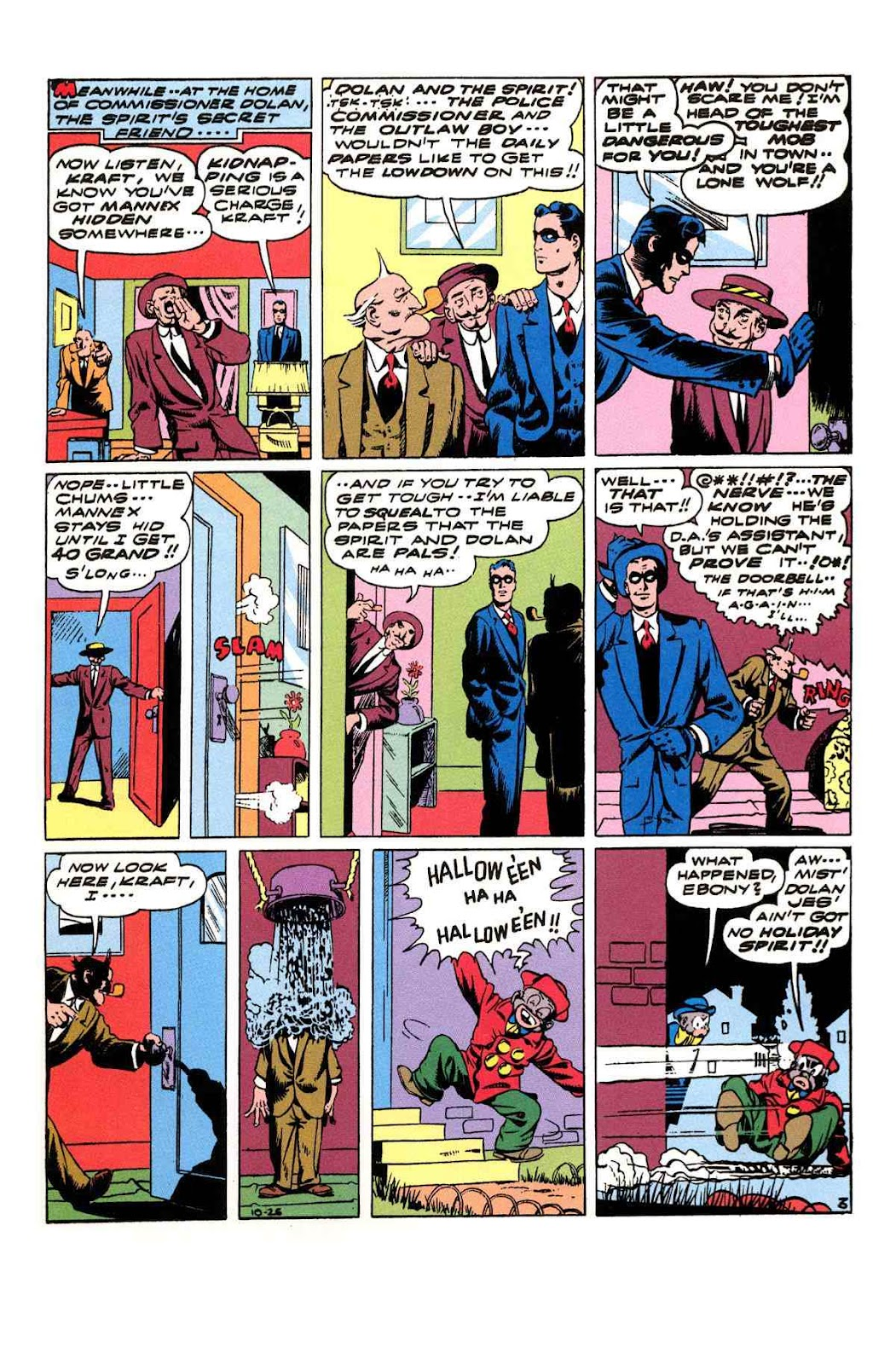 Read online Will Eisner's The Spirit Archives comic -  Issue # TPB 3 (Part 2) - 32