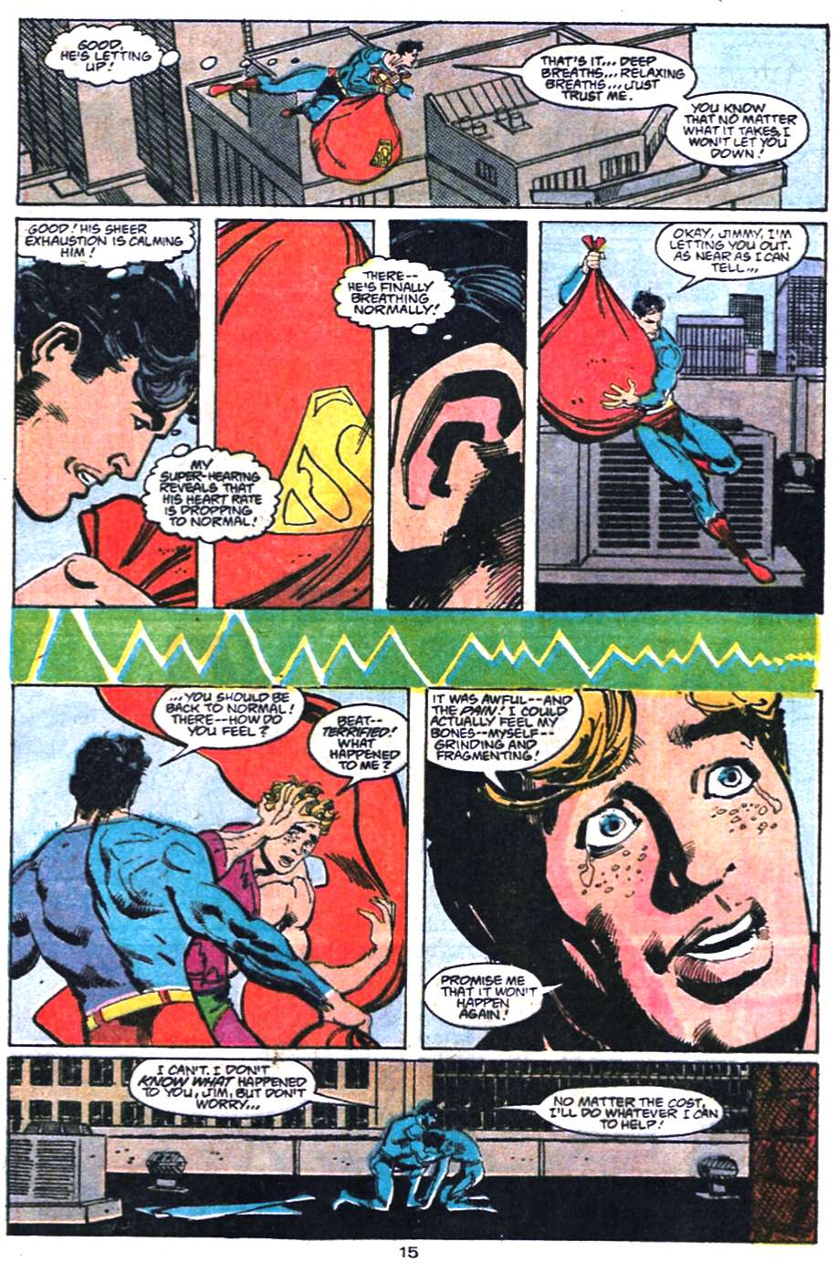 Read online Adventures of Superman (1987) comic -  Issue #458 - 16