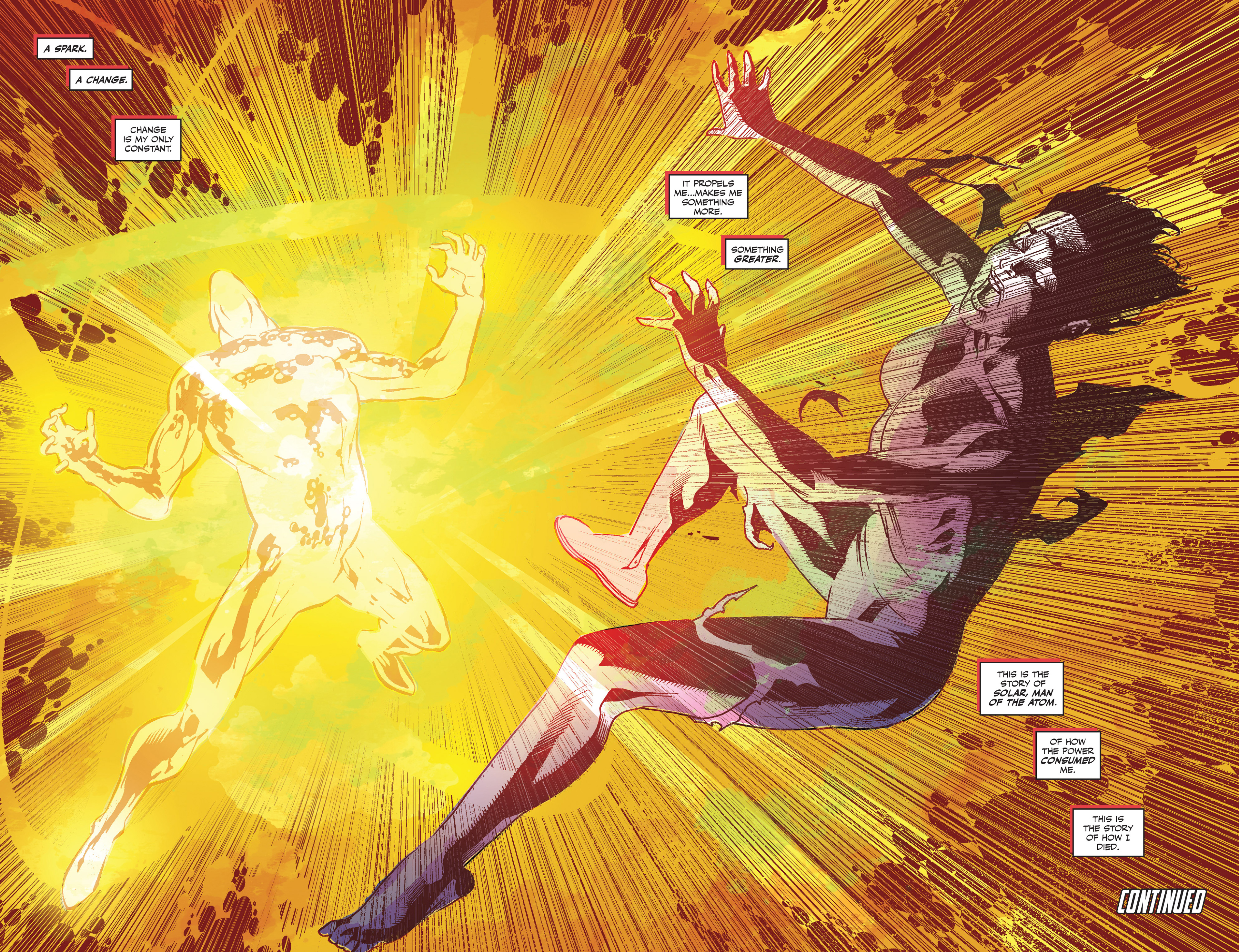 Read online Solar: Man of the Atom (2014) comic -  Issue #1 - 24