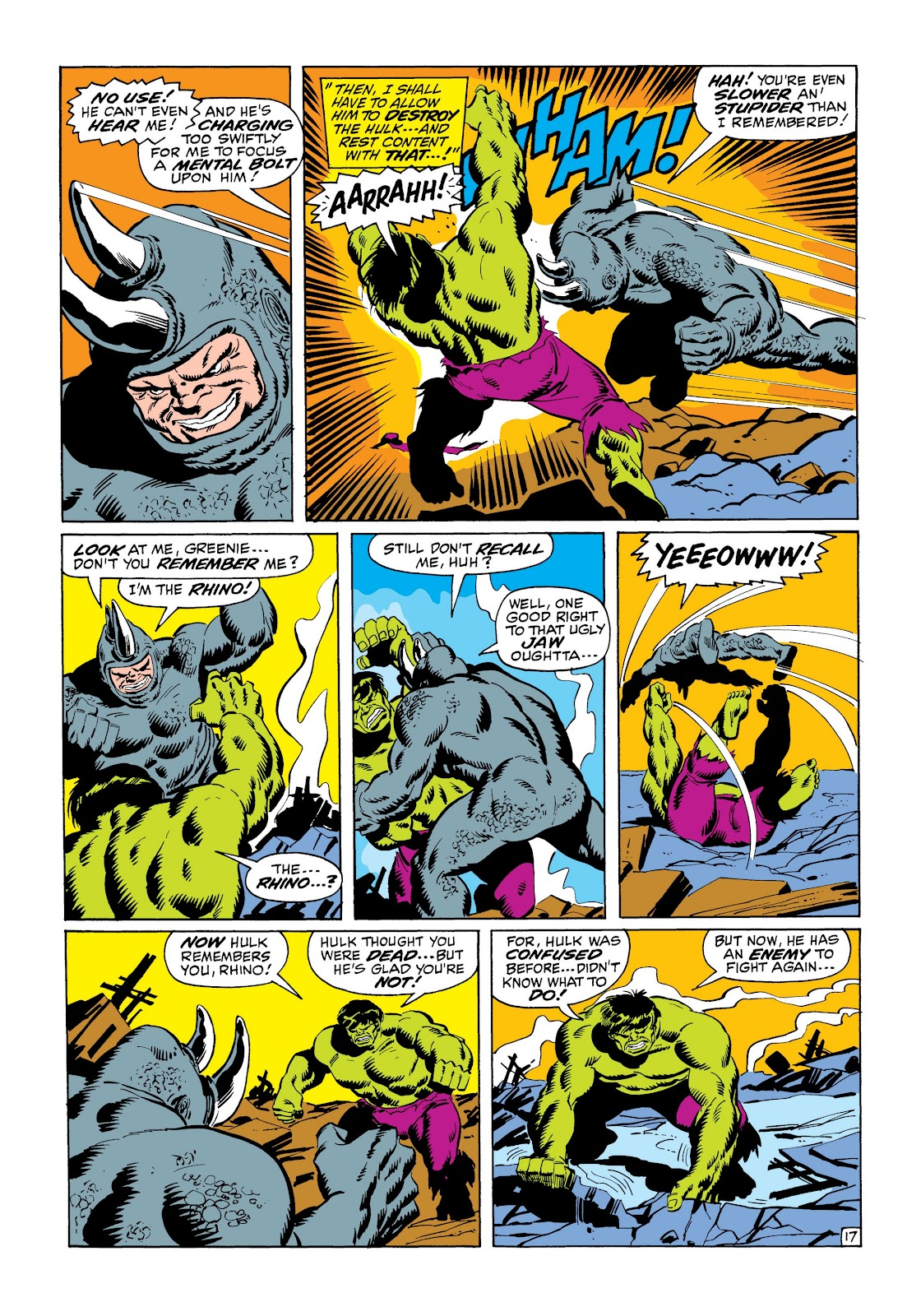 Read online Marvel Masterworks: The Incredible Hulk comic -  Issue # TPB 6 (Part 1) - 68