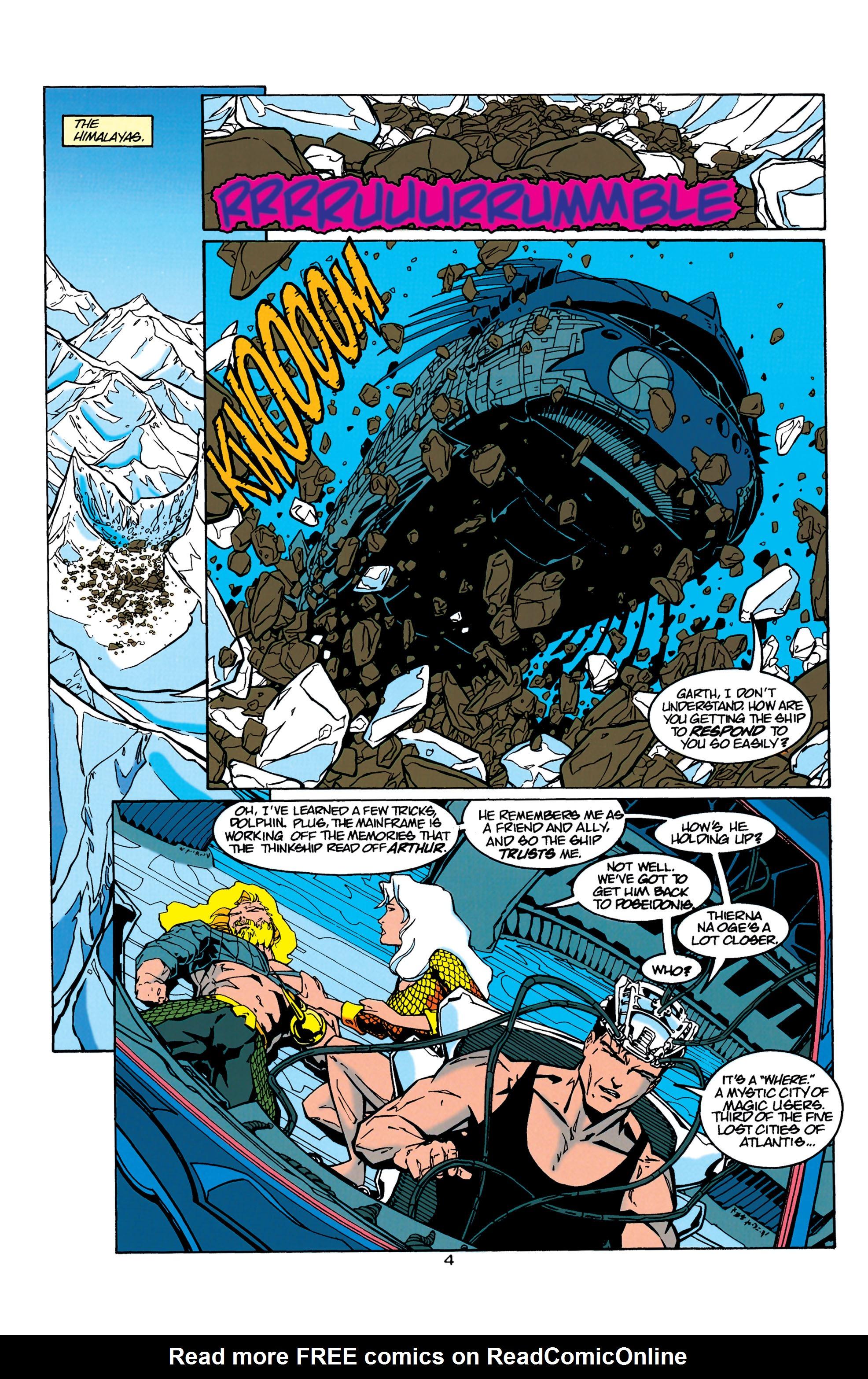 Read online Aquaman (1994) comic -  Issue #21 - 5