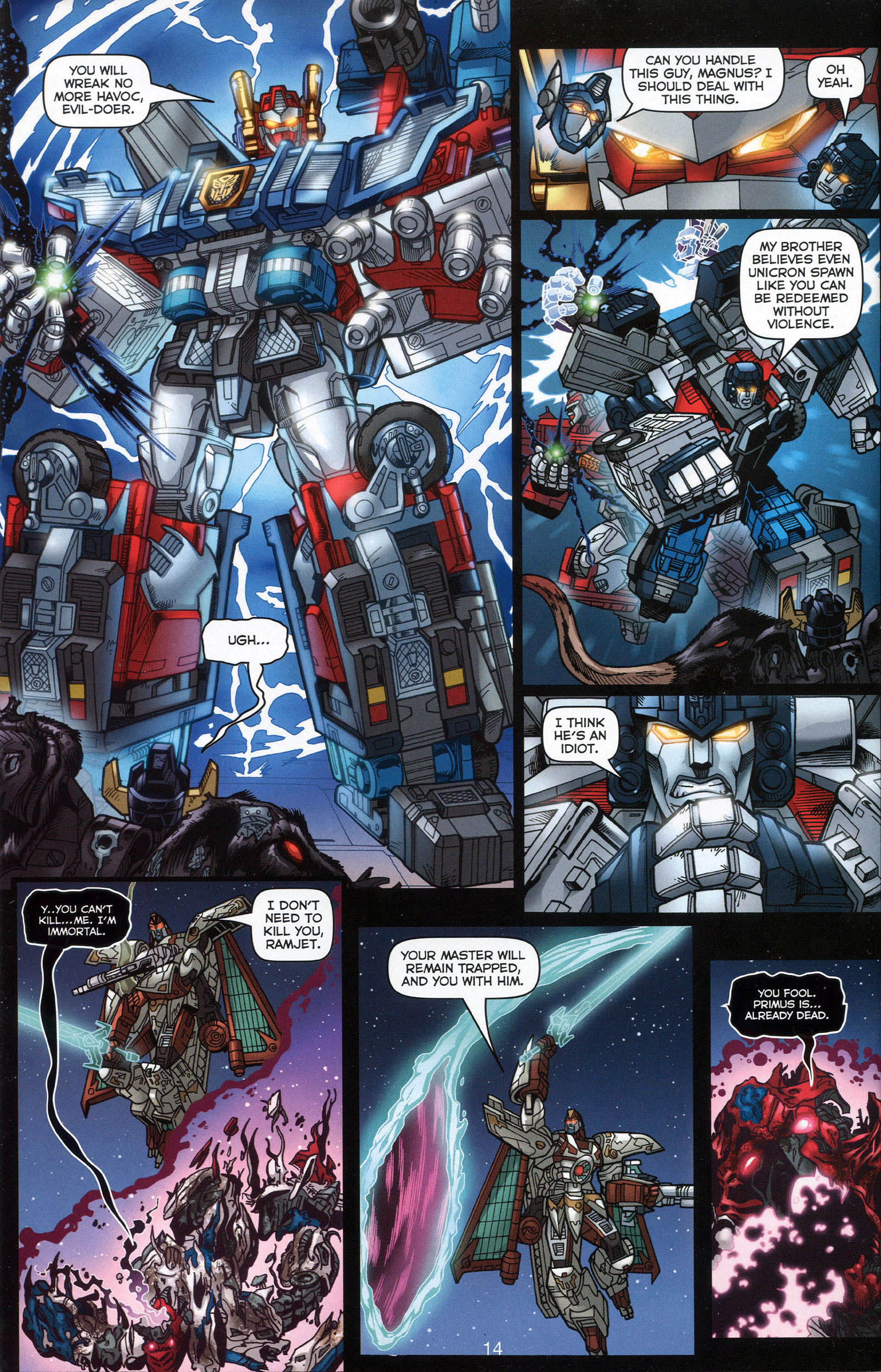 Read online Transformers: Collectors' Club comic -  Issue #7 - 14