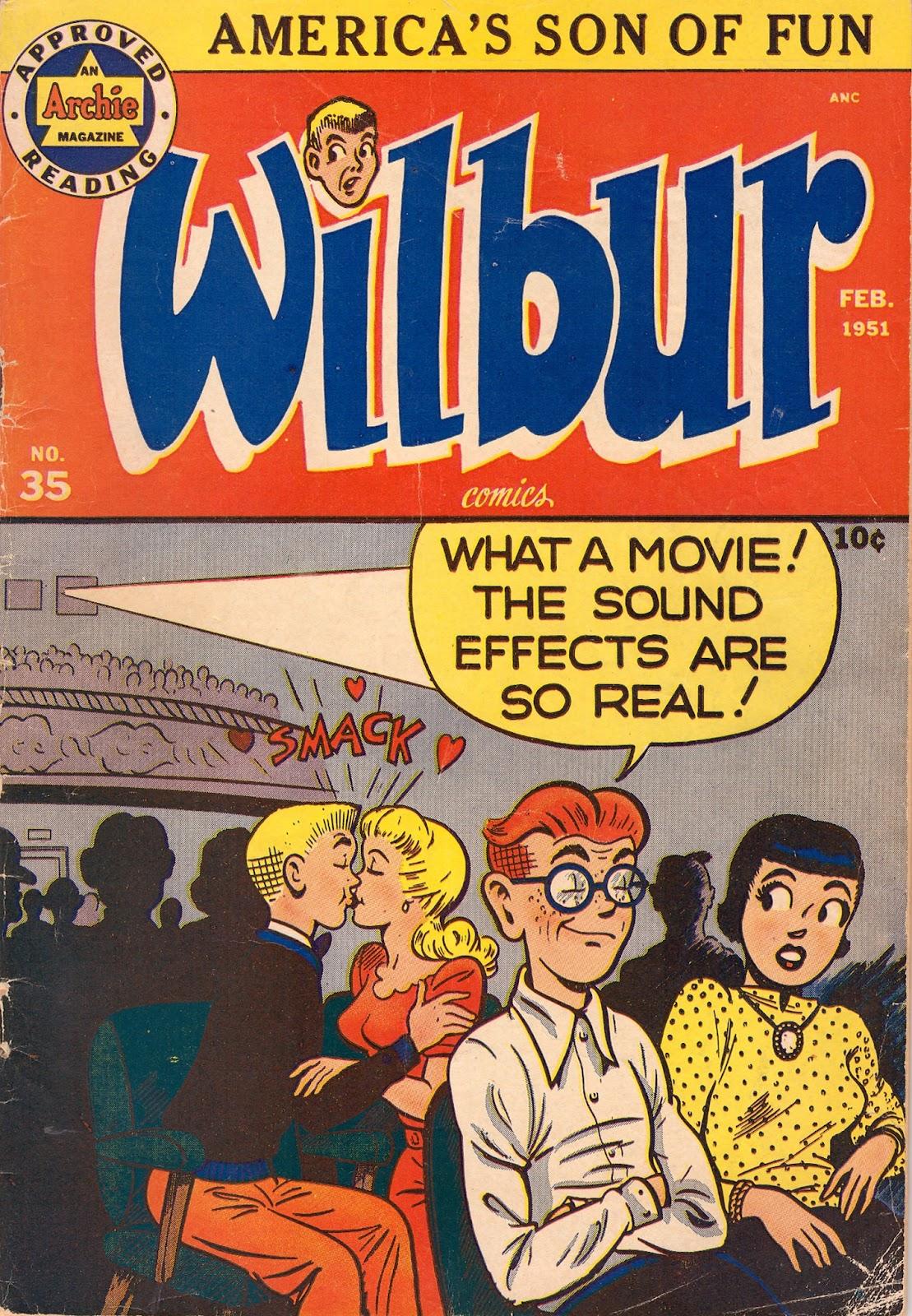 Wilbur Comics 35 Page 1