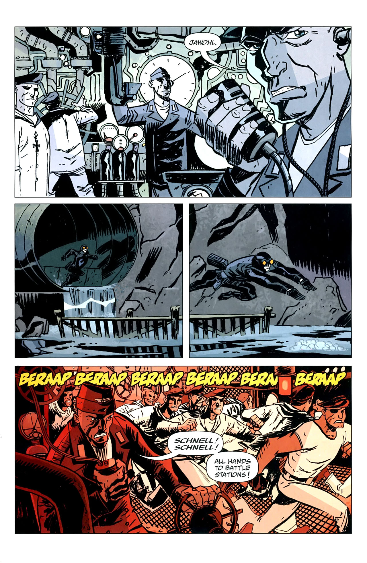 Read online Lobster Johnson: The Iron Prometheus comic -  Issue #5 - 13