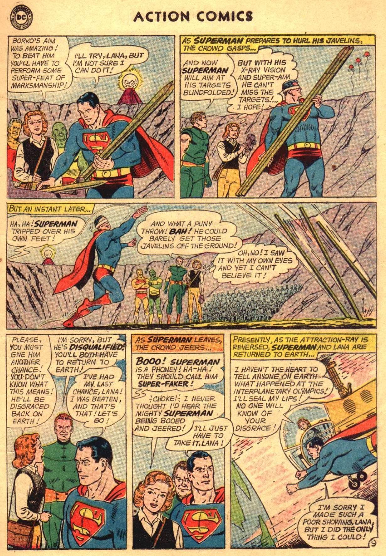 Read online Action Comics (1938) comic -  Issue #304 - 11