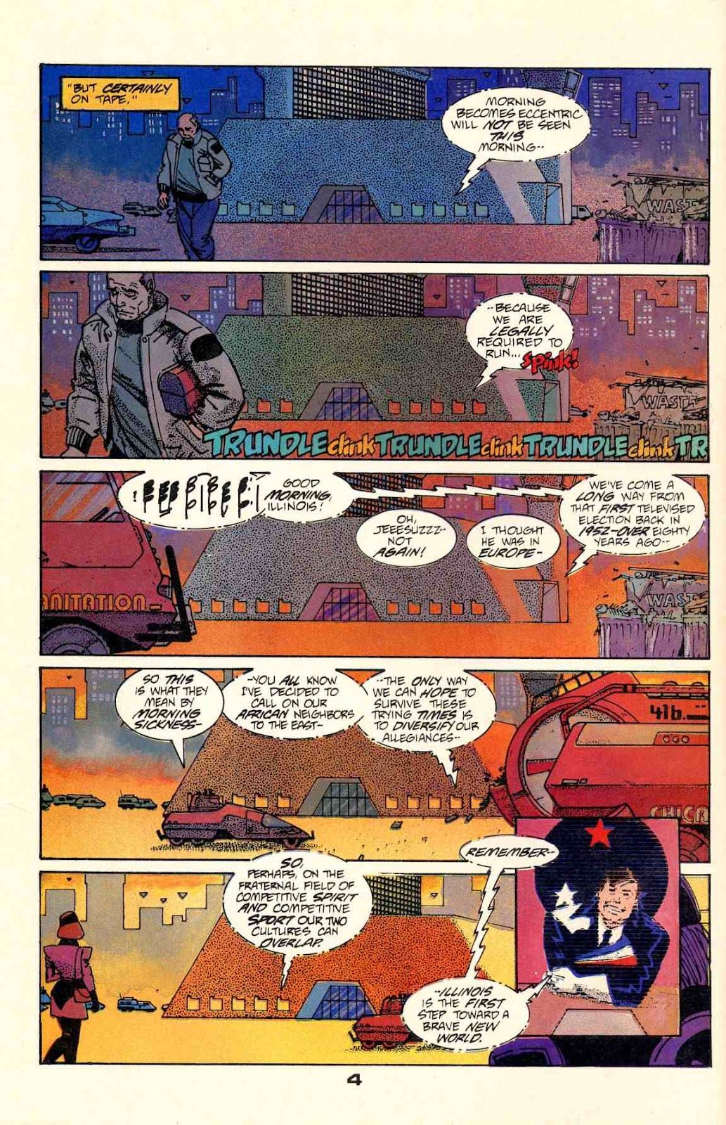 Howard Chaykin's American Flagg issue 2 - Page 6