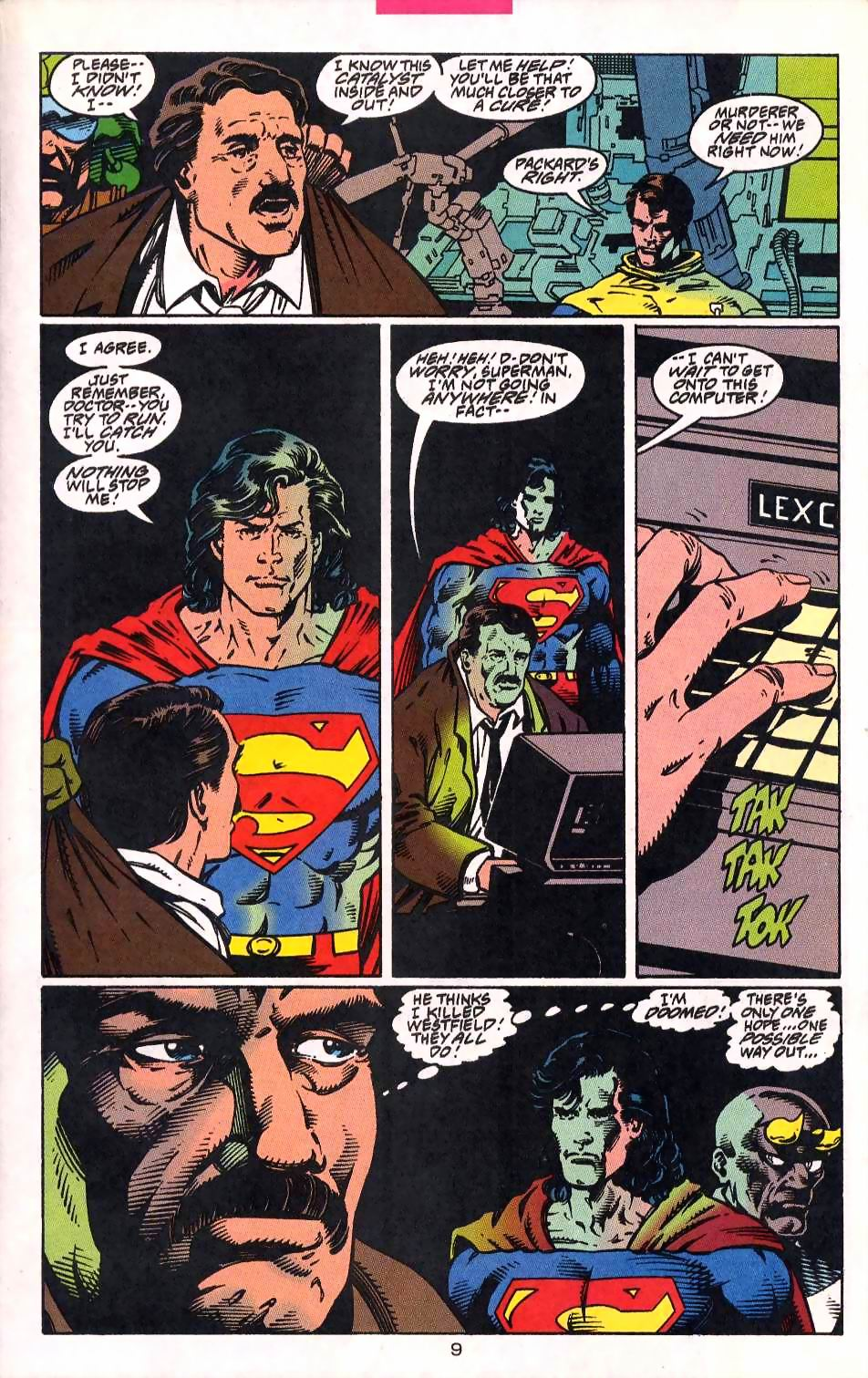 Read online Adventures of Superman (1987) comic -  Issue #513 - 10