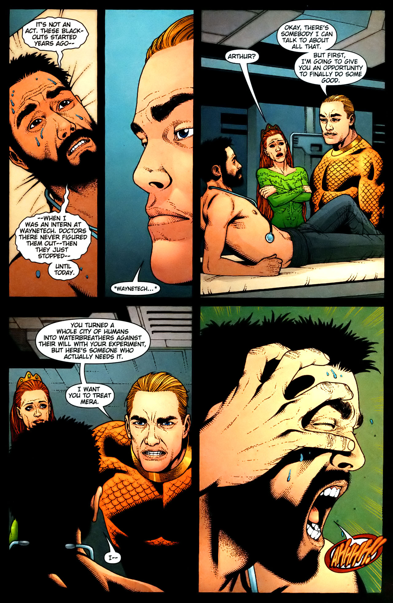 Read online Aquaman (2003) comic -  Issue #35 - 4