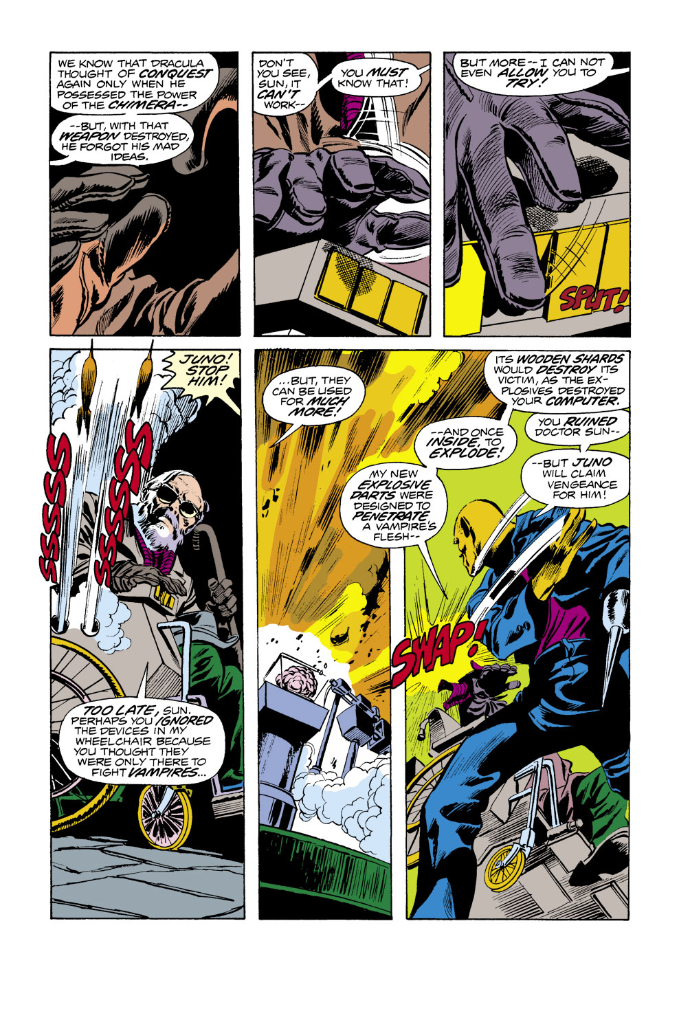 Tomb of Dracula (1972) issue 38 - Page 14