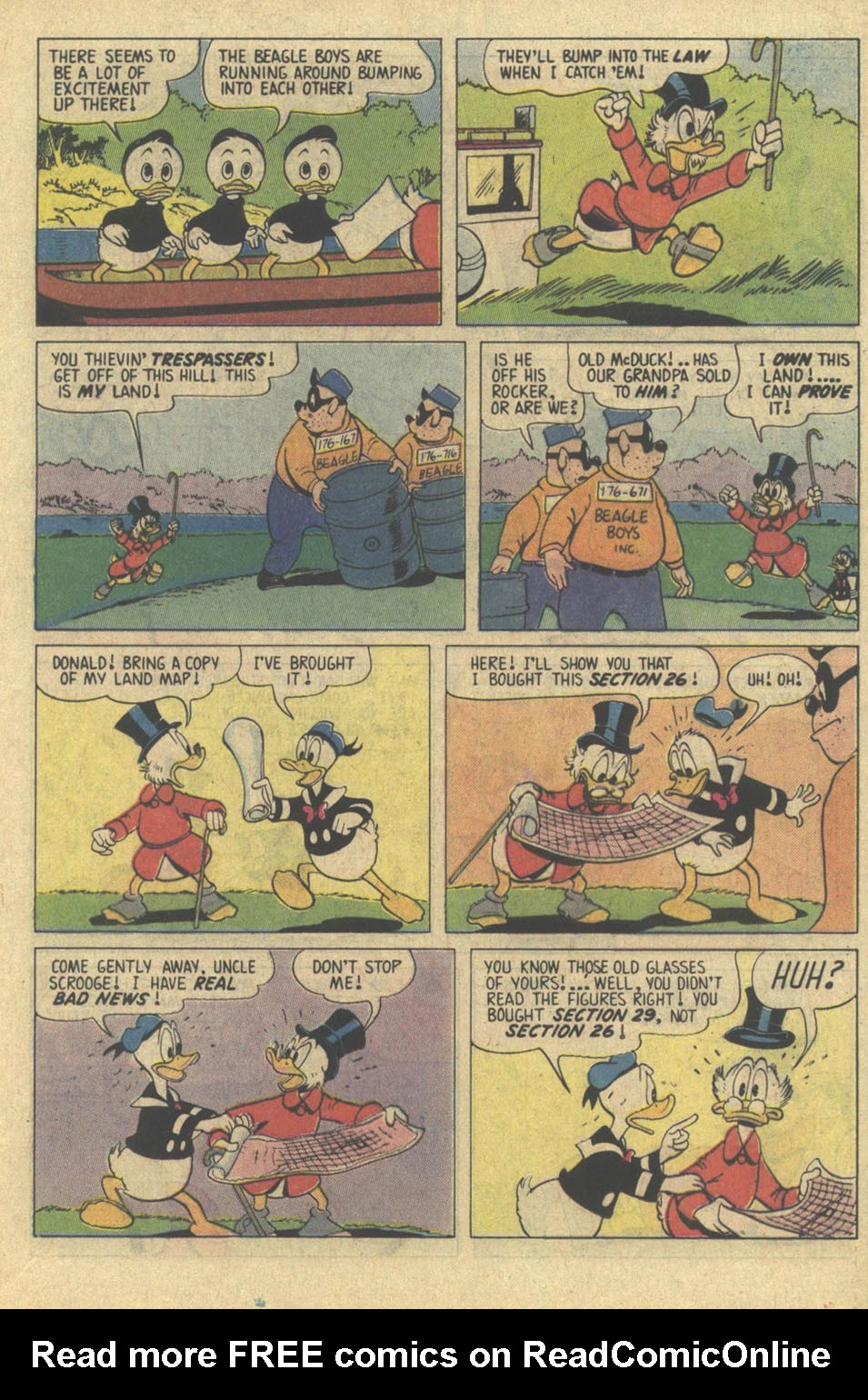 Read online Uncle Scrooge (1953) comic -  Issue #209 - 21