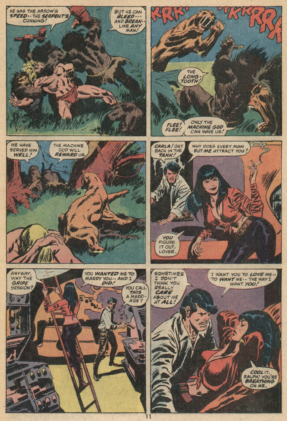 Read online Astonishing Tales (1970) comic -  Issue #14 - 8