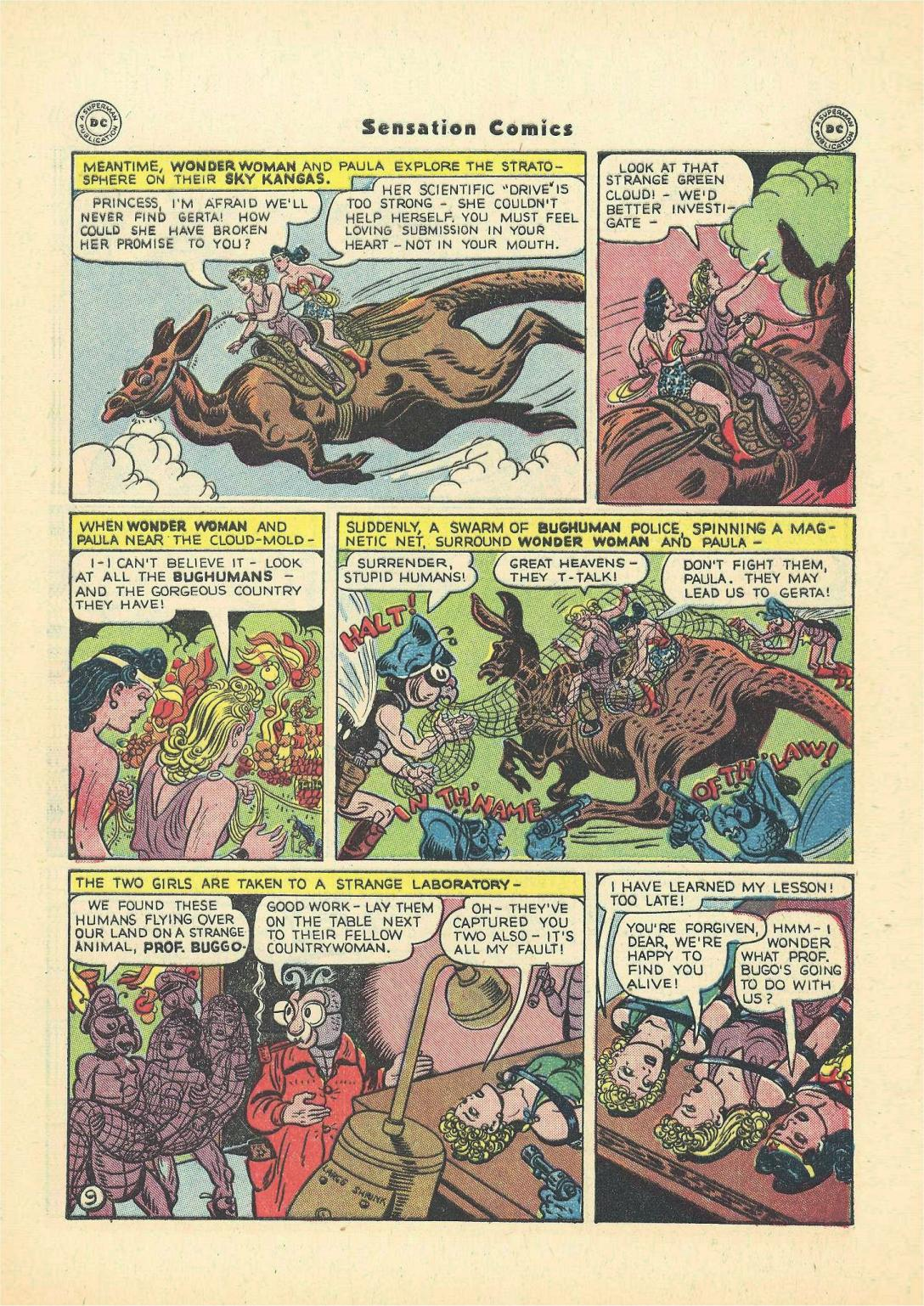 Read online Sensation (Mystery) Comics comic -  Issue #55 - 11