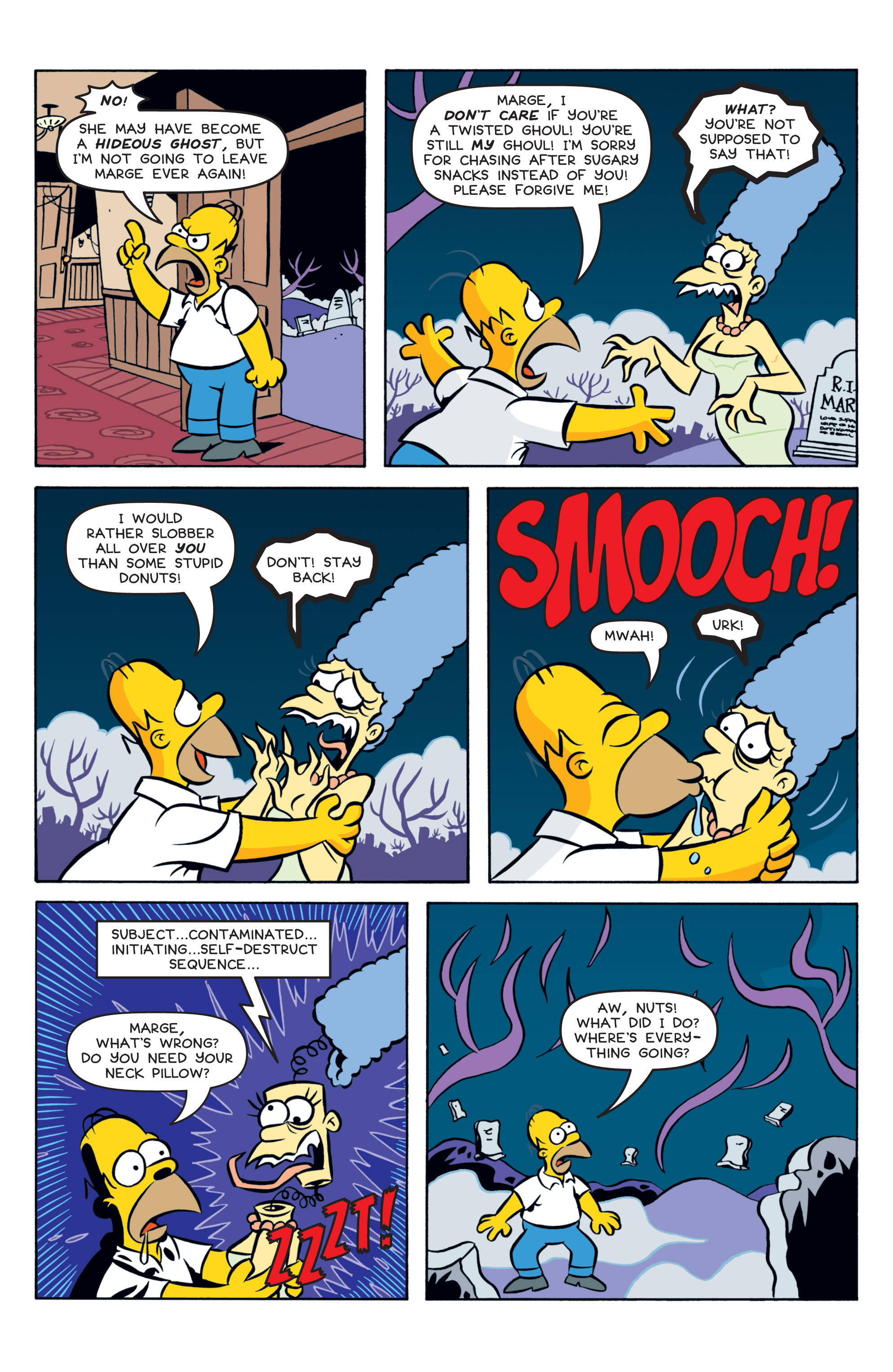 Read online Treehouse of Horror comic -  Issue #19 - 11