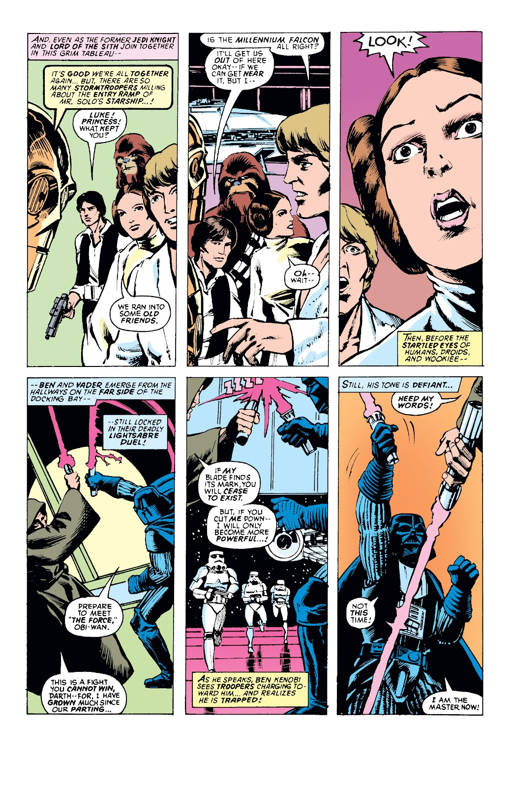 Read online Star Wars Legends: The Original Marvel Years - Epic Collection comic -  Issue # TPB 1 (Part 1) - 76