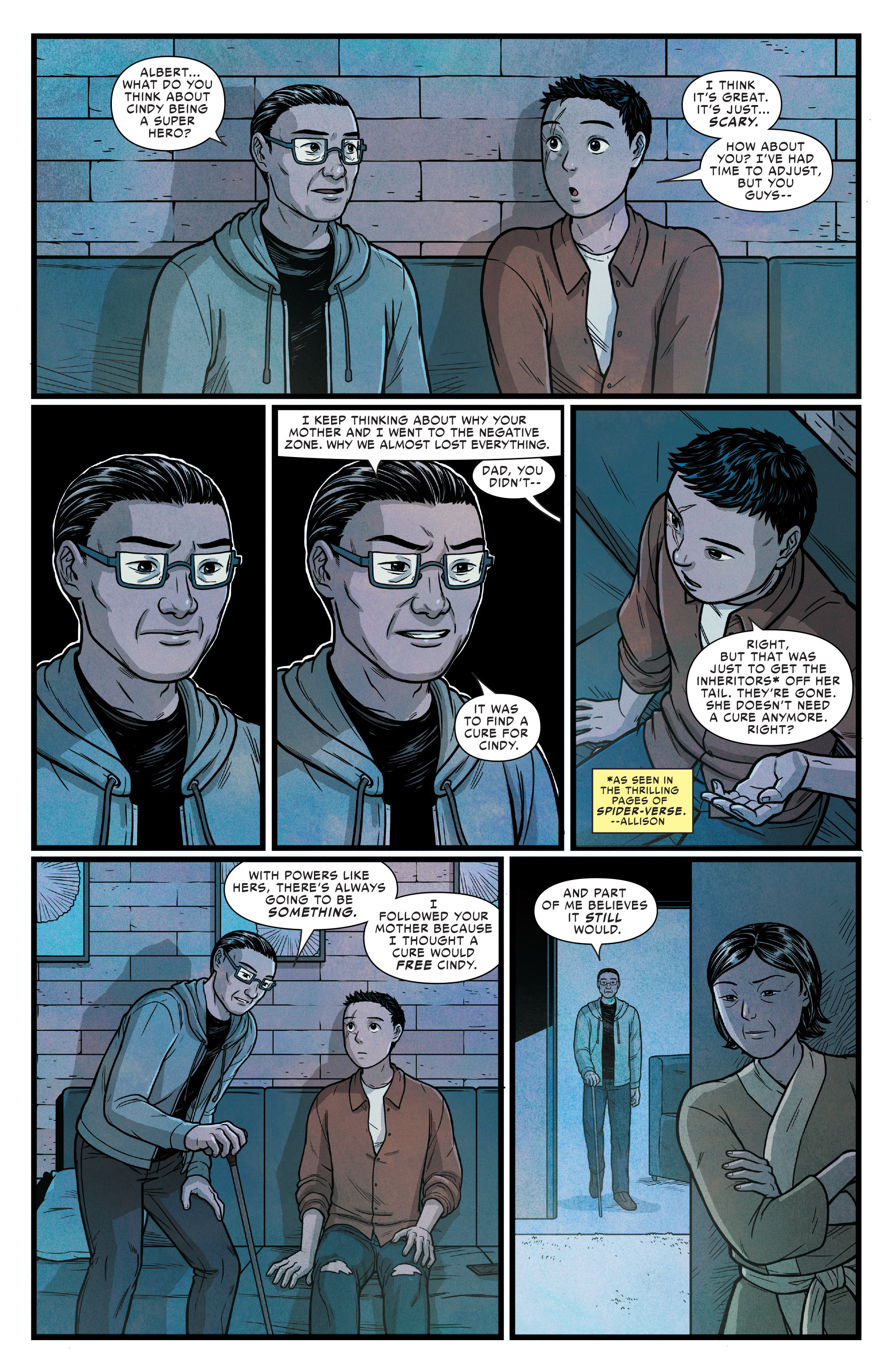 Read online Silk (2016) comic -  Issue #15 - 9