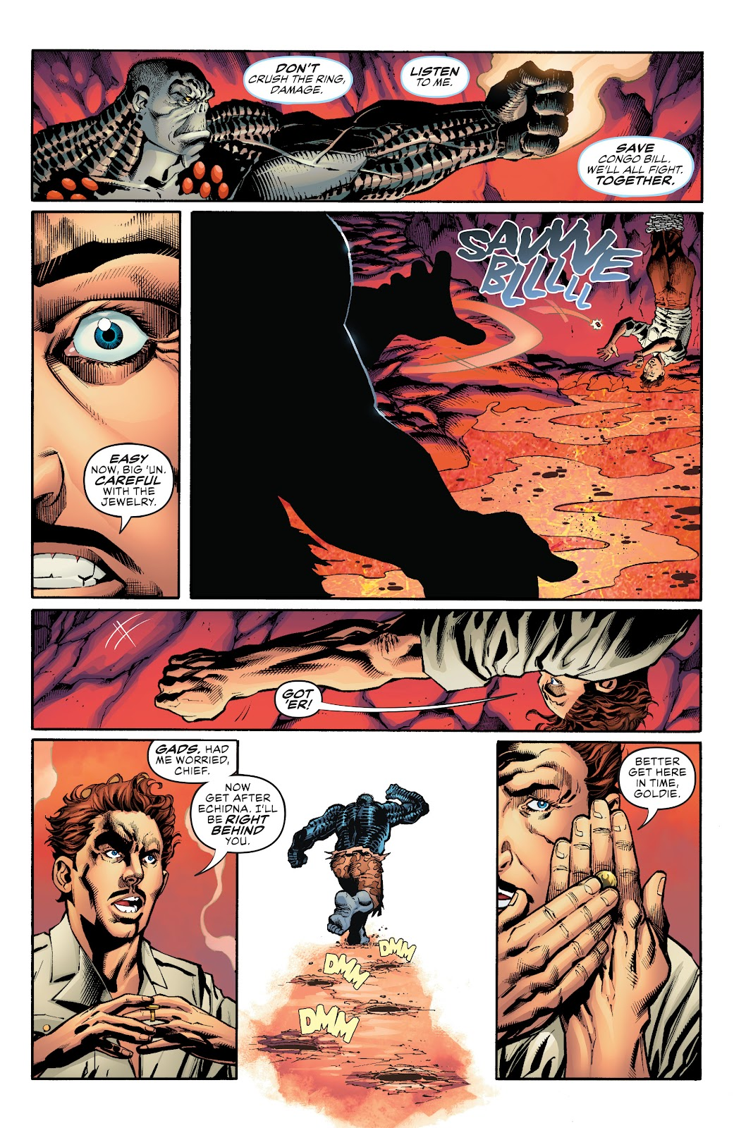 Read online Damage (2018) comic -  Issue #16 - 8