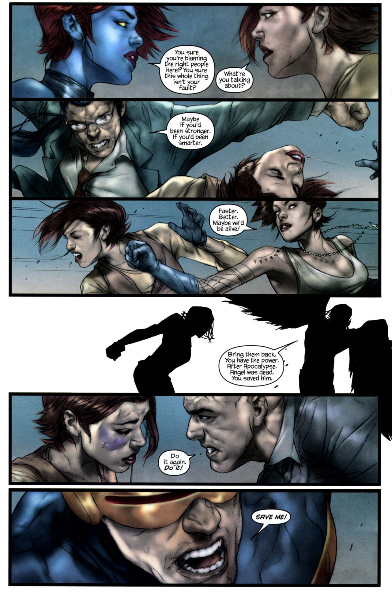 Read online Ultimatum: X-Men Requiem comic -  Issue # Full - 21