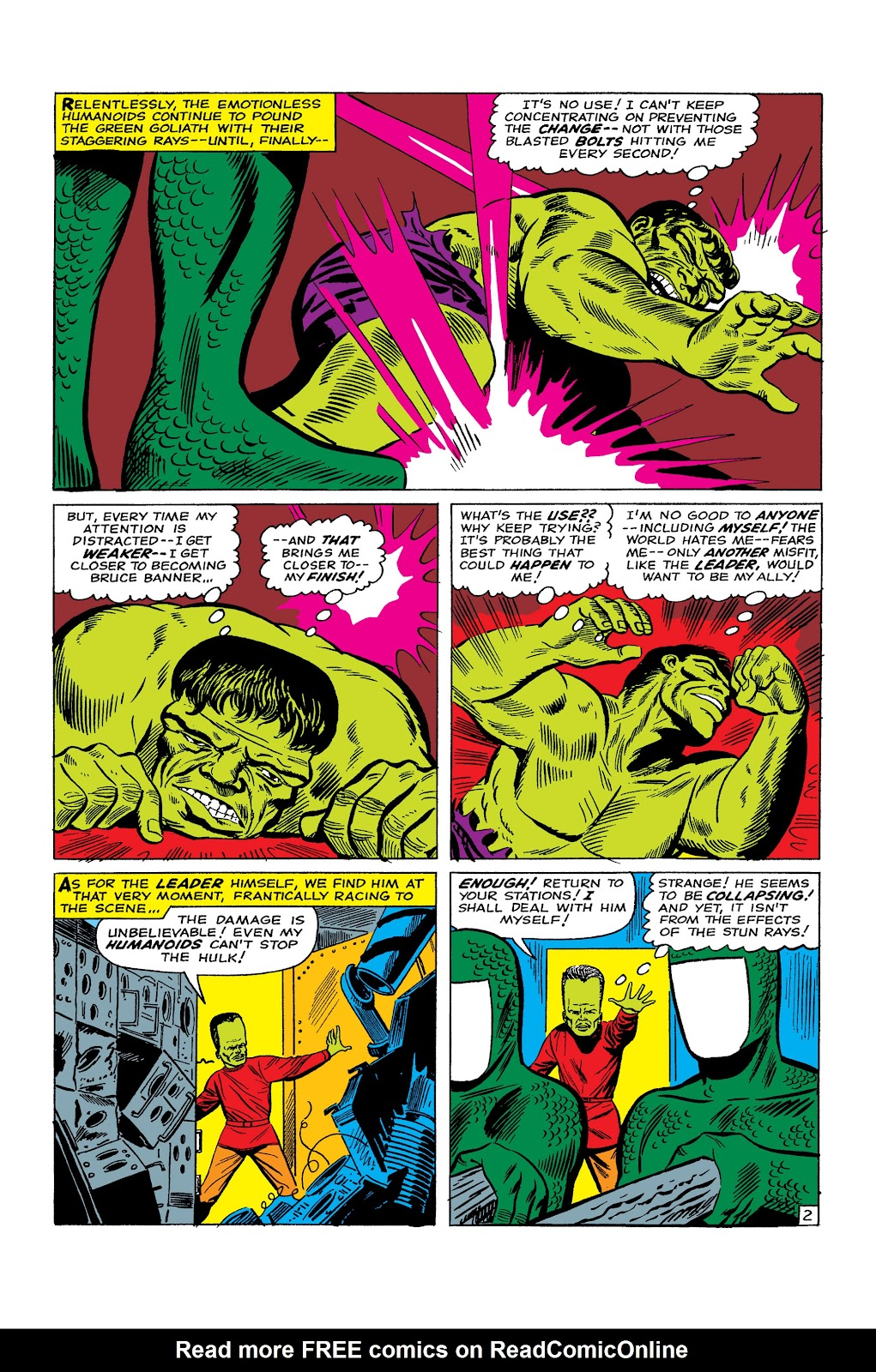 Read online Marvel Masterworks: The Incredible Hulk comic -  Issue # TPB 2 (Part 2) - 69