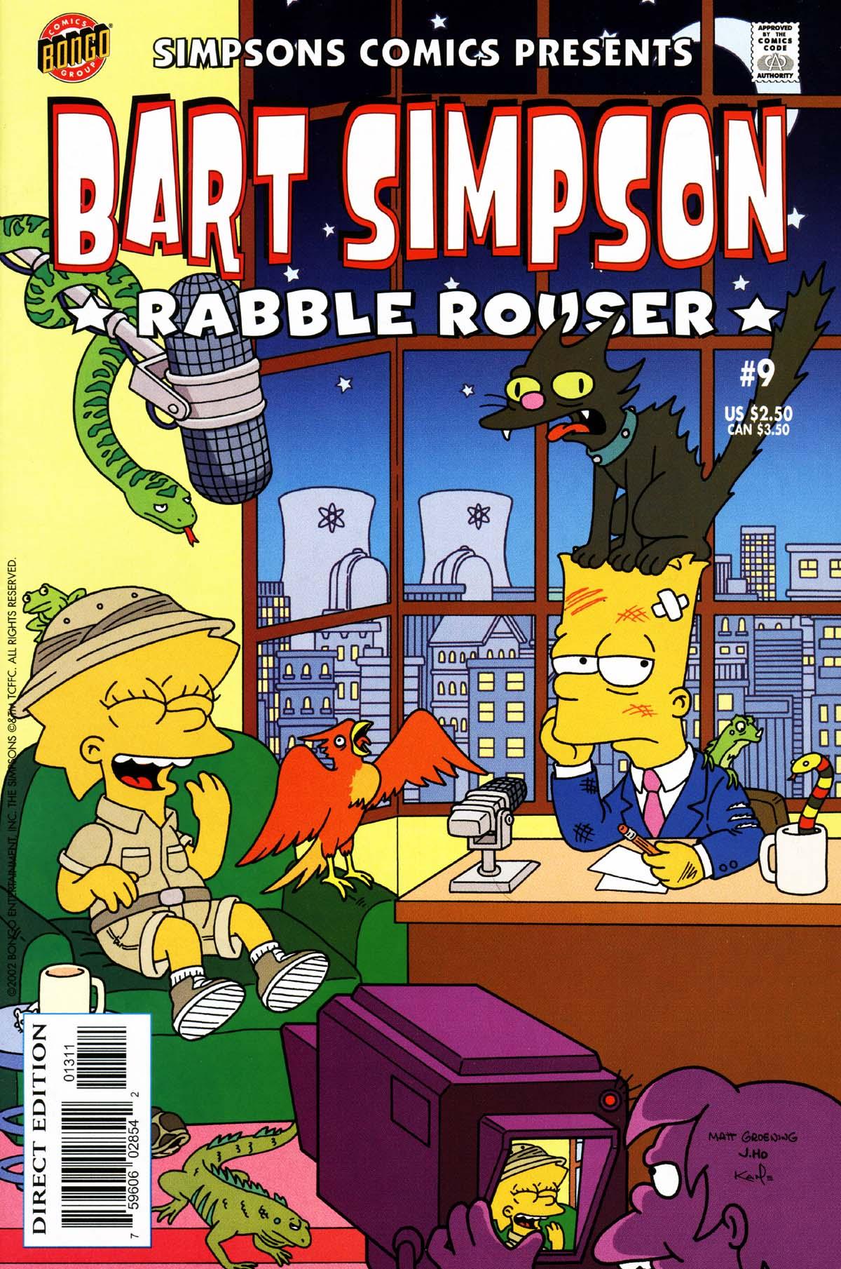 Read online Simpsons Comics Presents Bart Simpson comic -  Issue #9 - 1