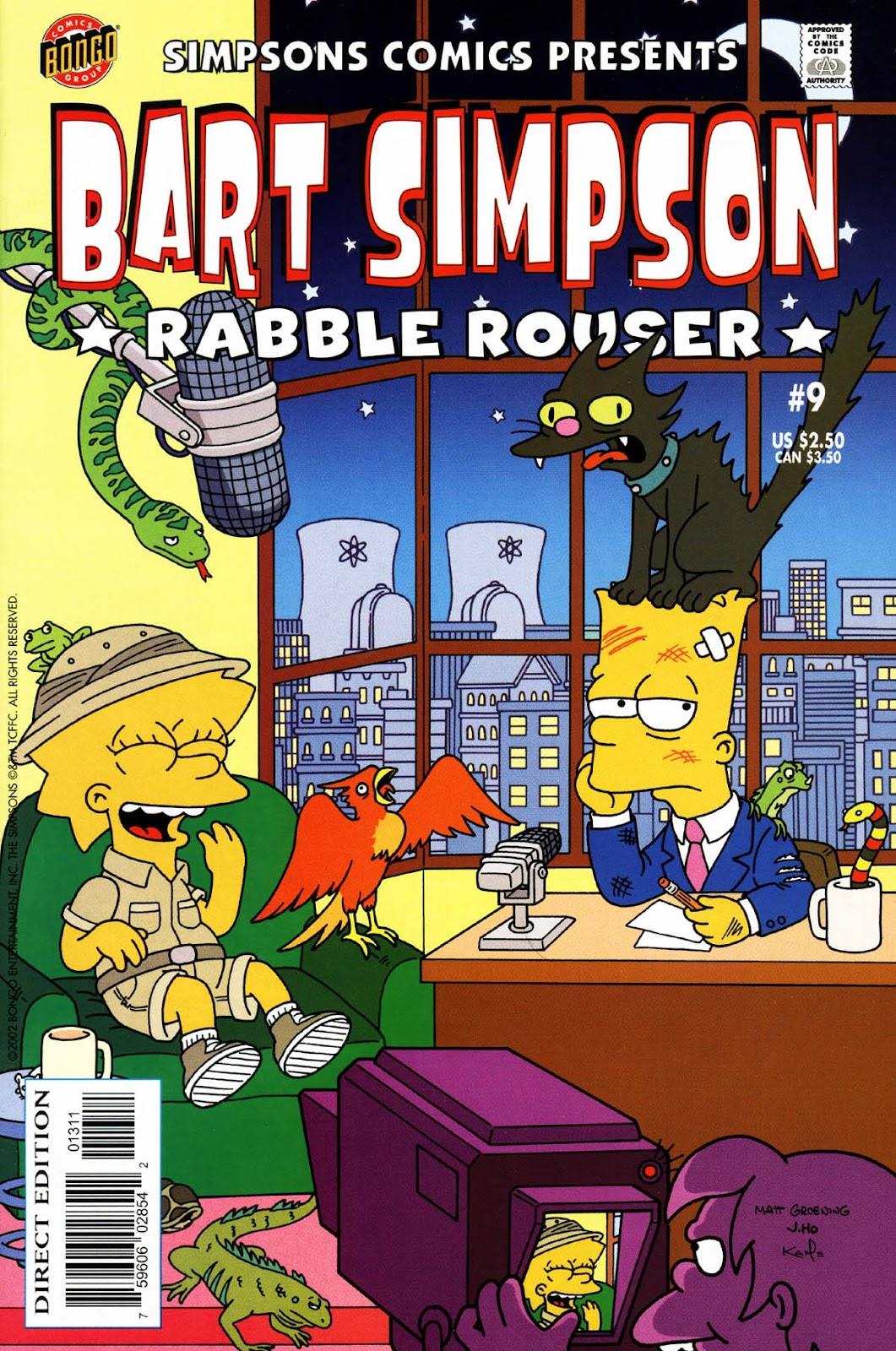 Simpsons Comics Presents Bart Simpson 9 Page 1
