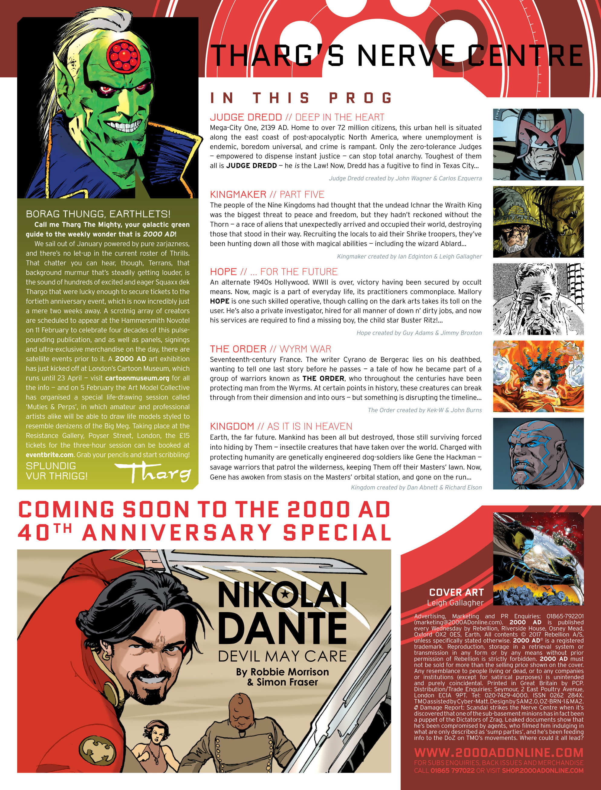 Read online 2000 AD comic -  Issue #2015 - 2