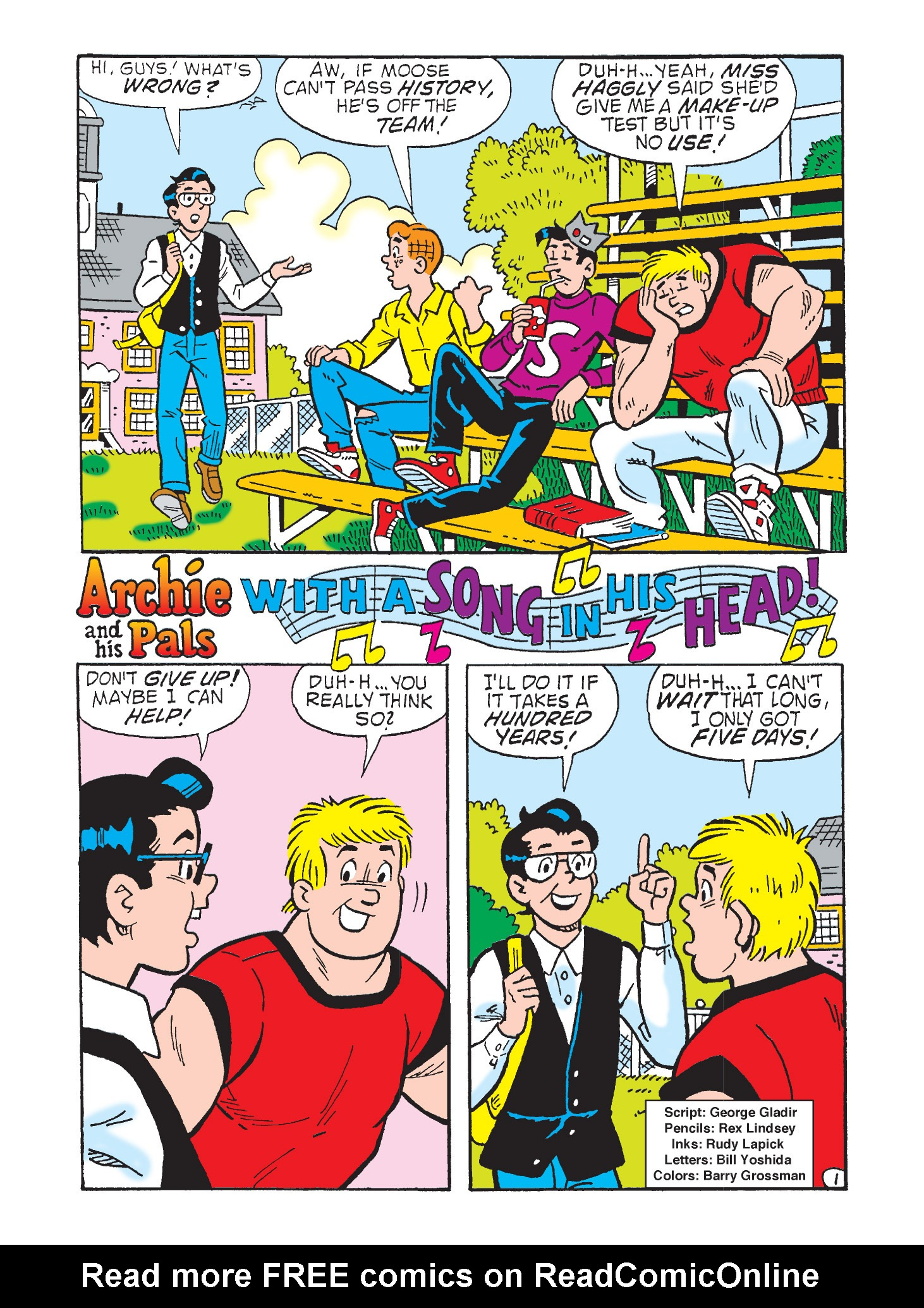 Read online Archie's Funhouse Double Digest comic -  Issue #9 - 117