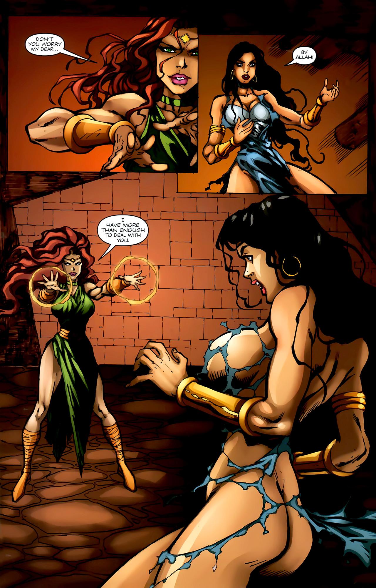 Read online 1001 Arabian Nights: The Adventures of Sinbad comic -  Issue #4 - 20