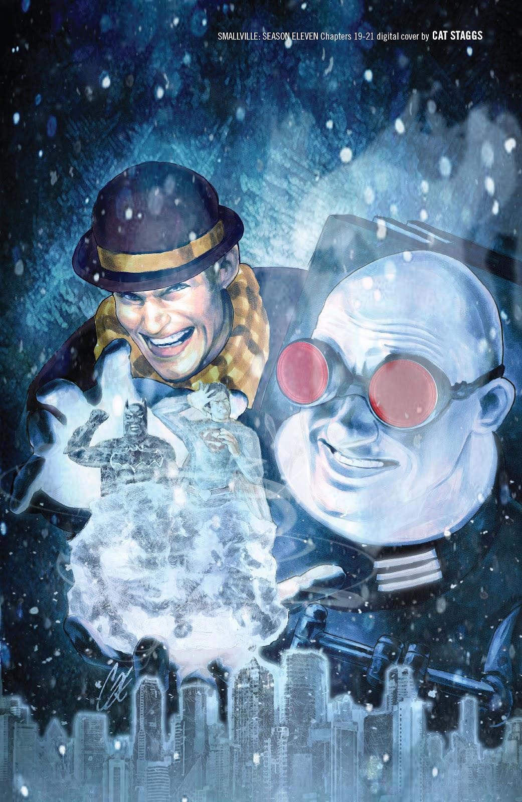 Read online Smallville Season 11 [II] comic -  Issue # TPB 2 - 135