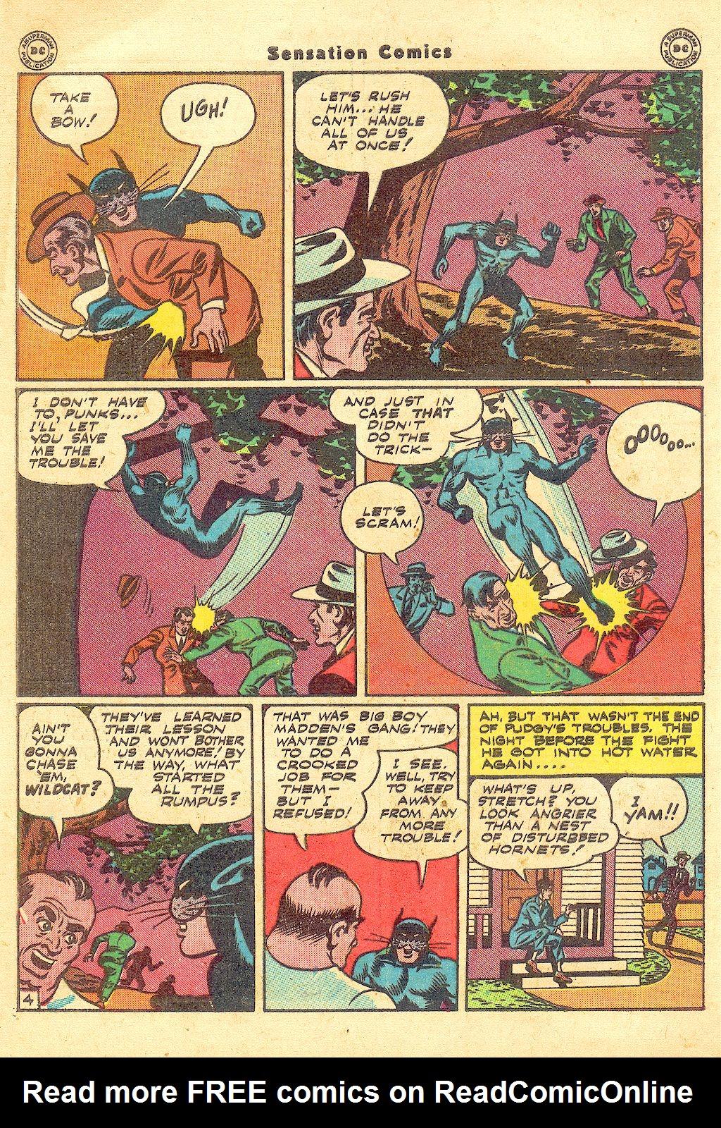 Read online Sensation (Mystery) Comics comic -  Issue #57 - 46