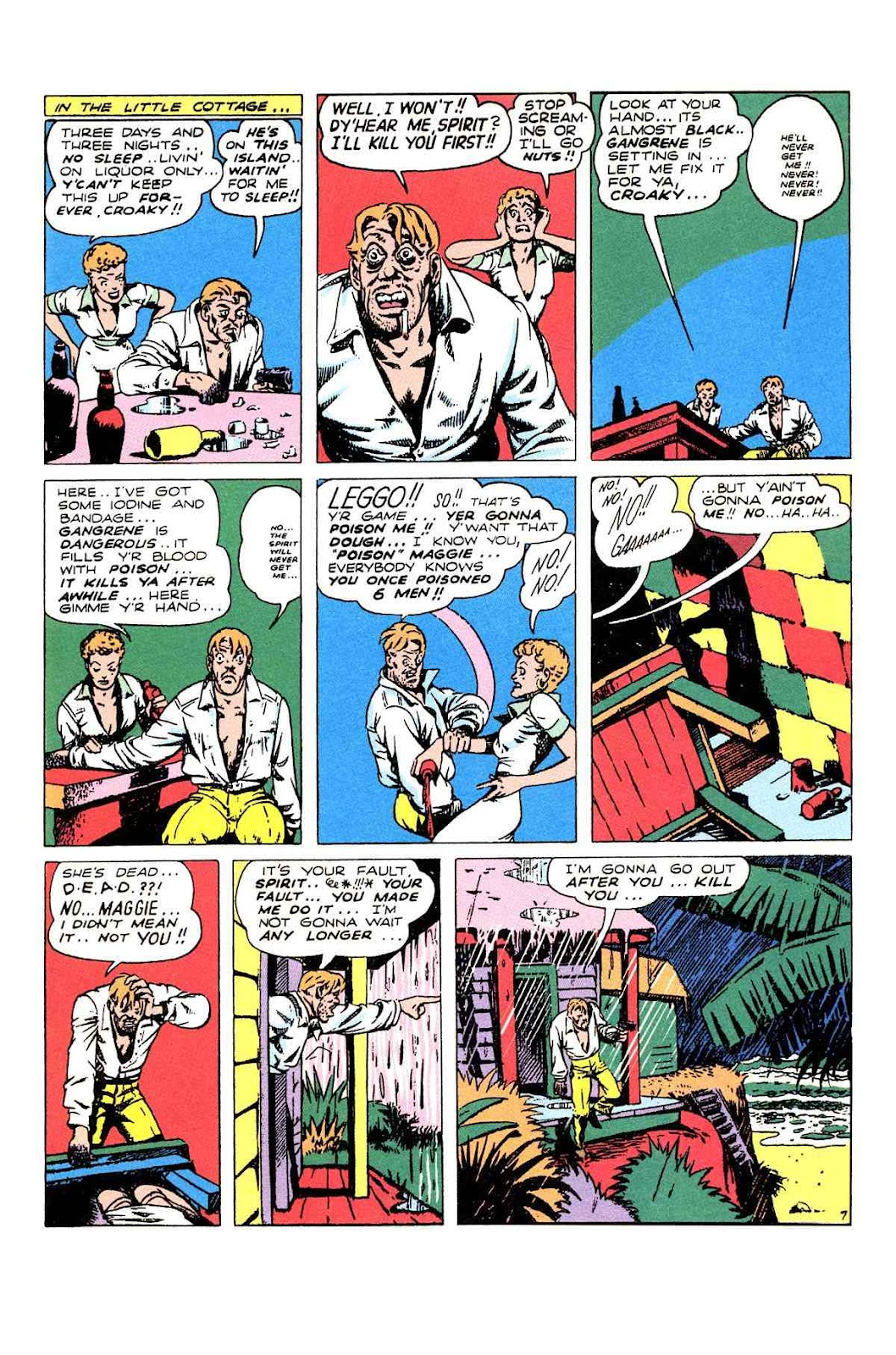 Read online Will Eisner's The Spirit Archives comic -  Issue # TPB 2 (Part 2) - 19