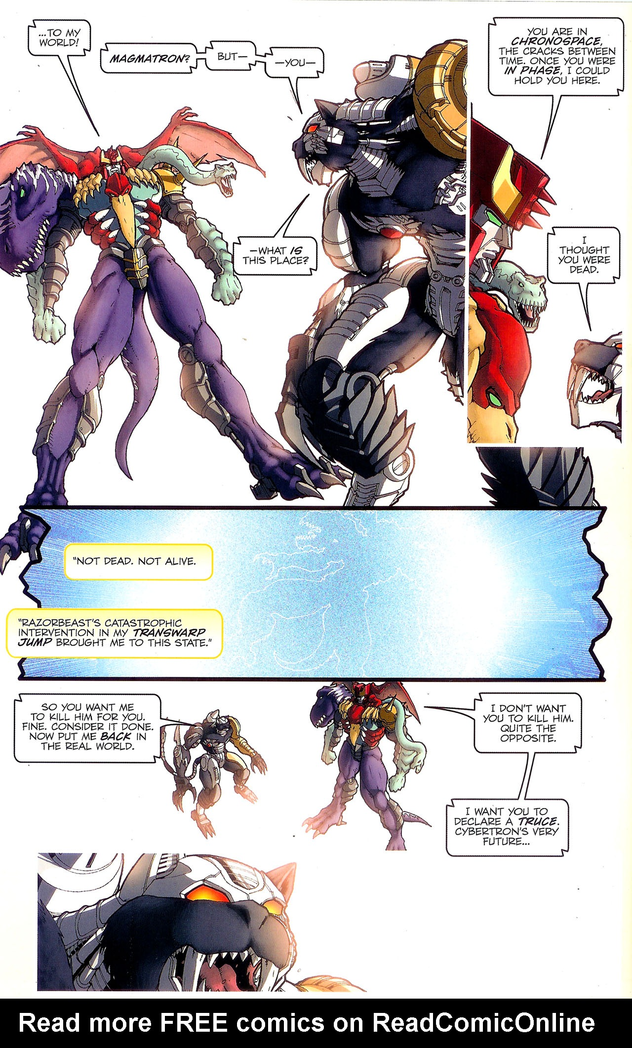 Read online Transformers: Beast Wars: The Ascending comic -  Issue #2 - 11