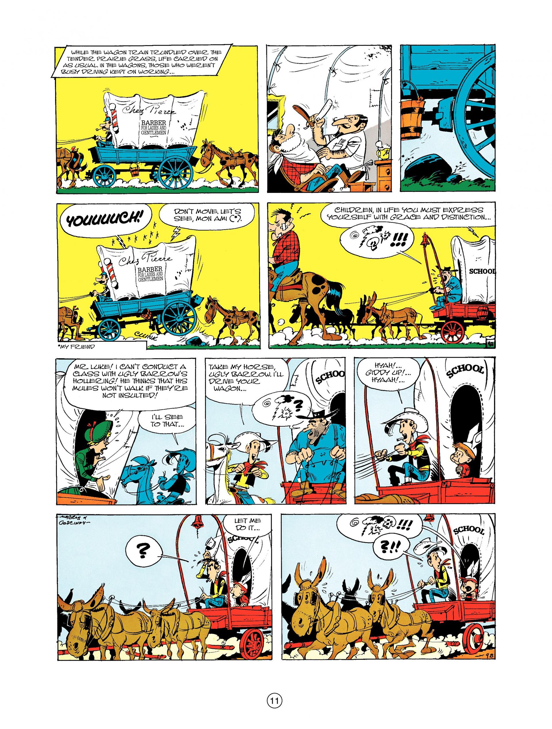 Read online A Lucky Luke Adventure comic -  Issue #9 - 11