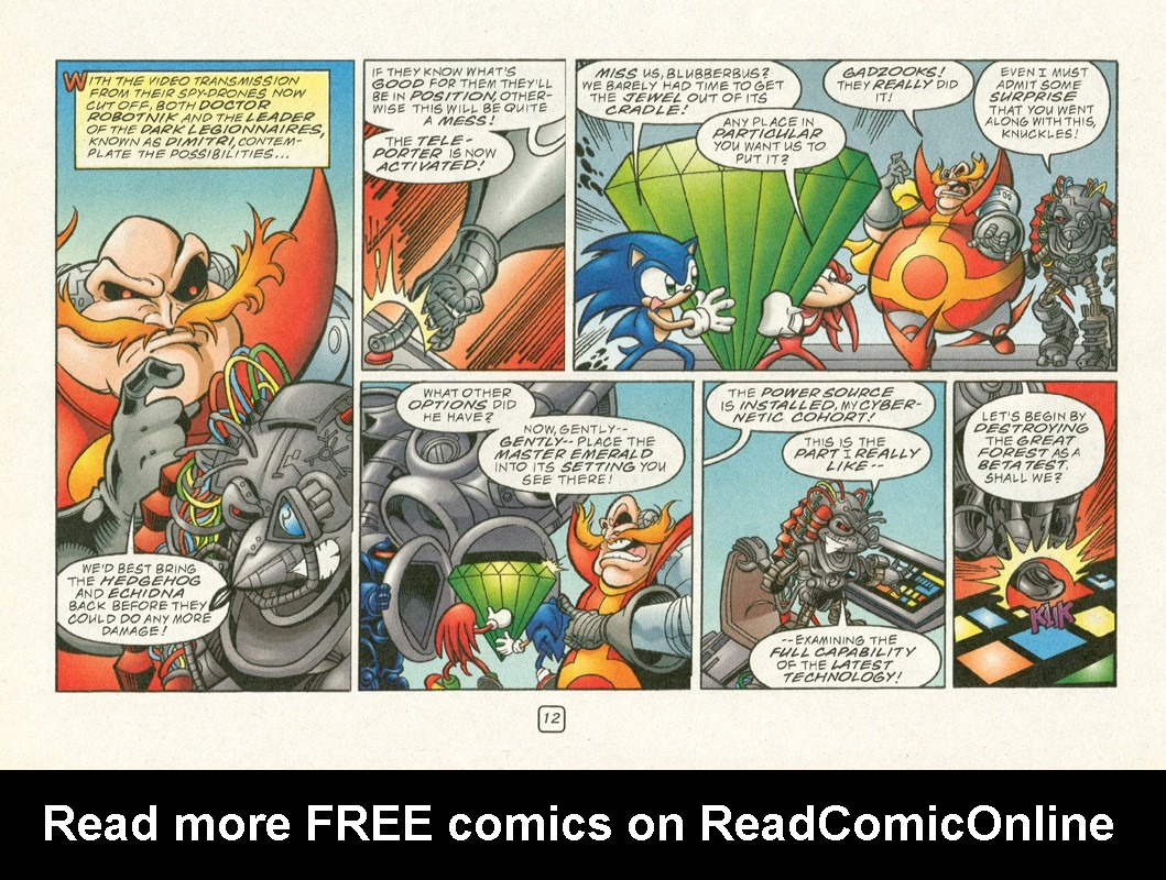 Read online Sonic Super Special comic -  Issue #12 - Sonic and Knuckles visa versa - 15