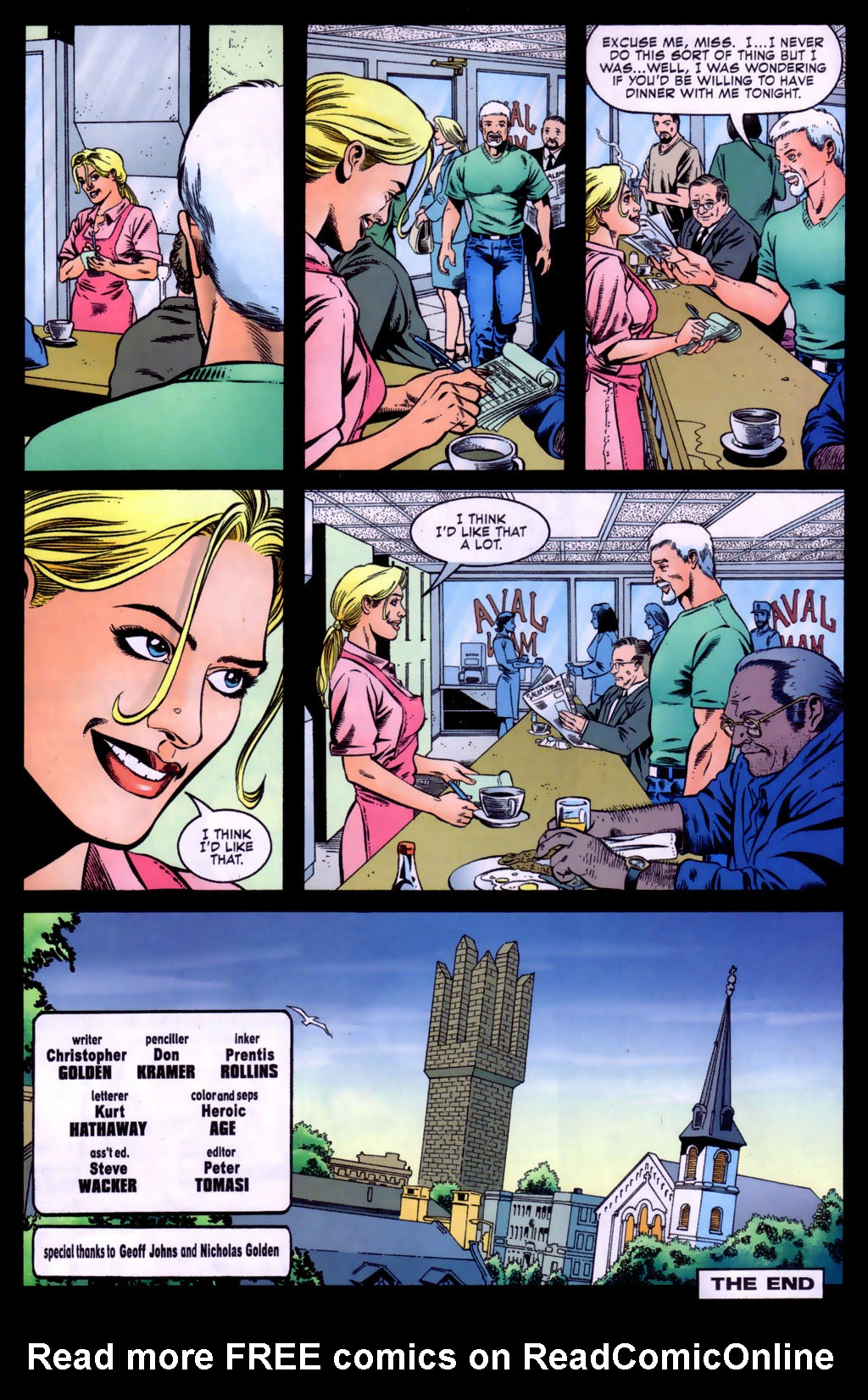 Read online Doctor Fate (2003) comic -  Issue #5 - 23