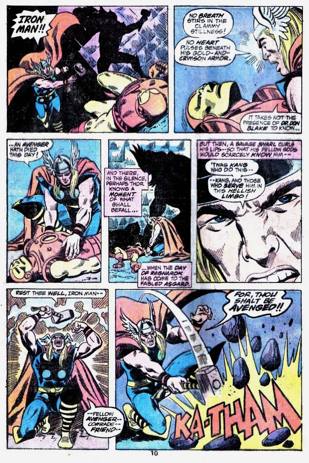 Giant-Size Avengers (1974) issue 3 - Page 12