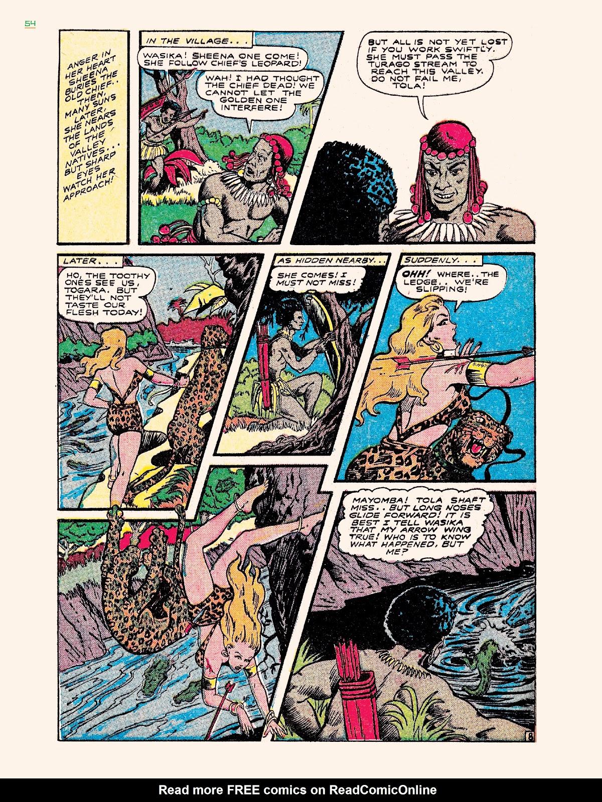 Read online Jungle Girls comic -  Issue # TPB (Part 1) - 54