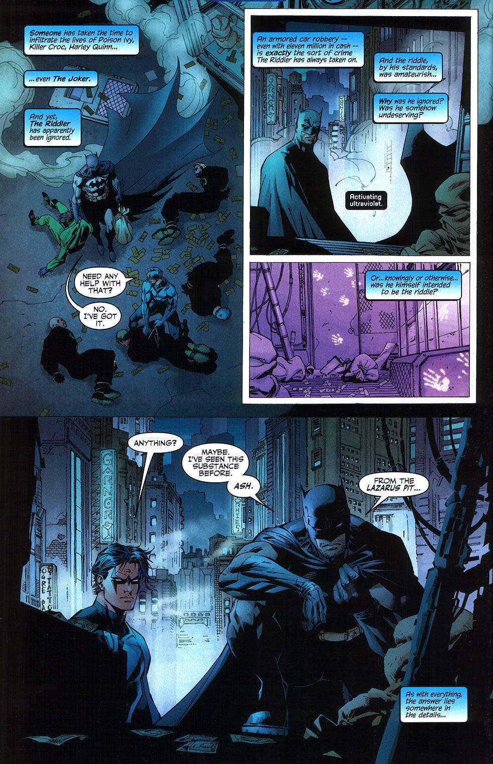 Read online Batman: Hush comic -  Issue #8 - 18
