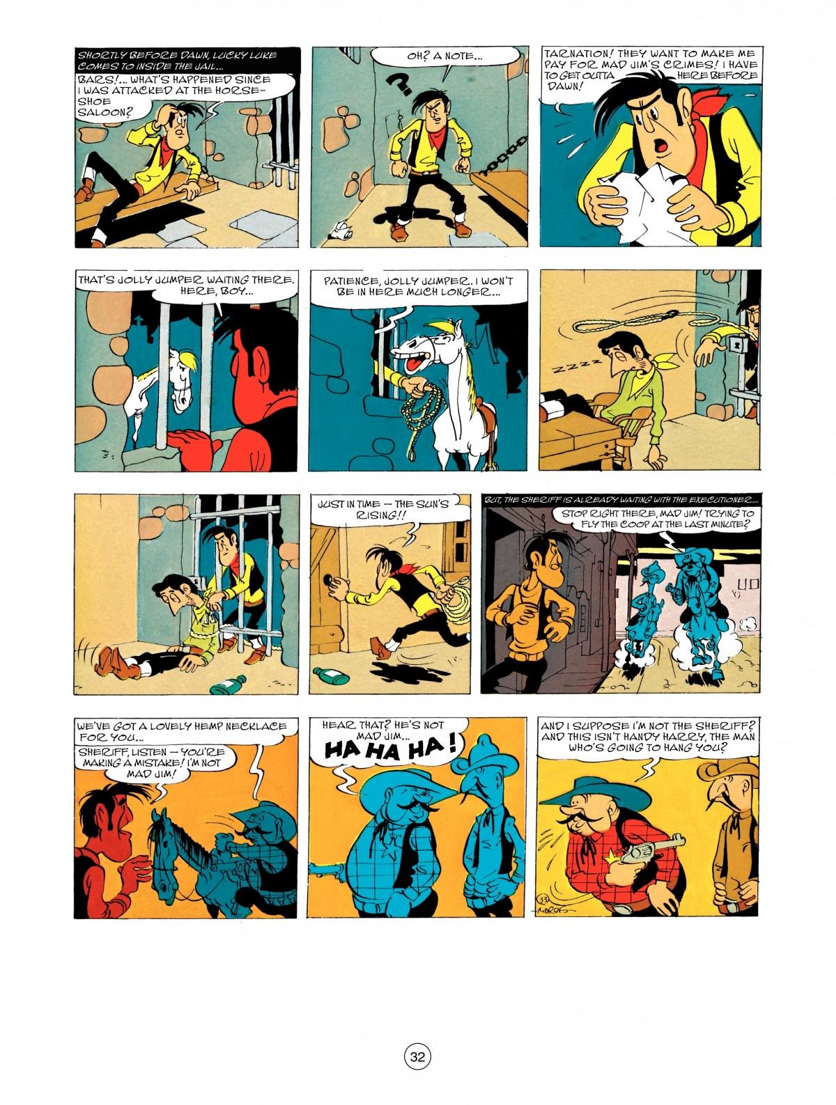 Read online A Lucky Luke Adventure comic -  Issue #48 - 32