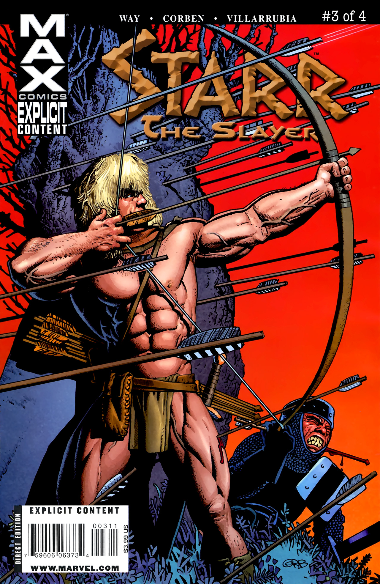 Read online Starr the Slayer comic -  Issue #3 - 1
