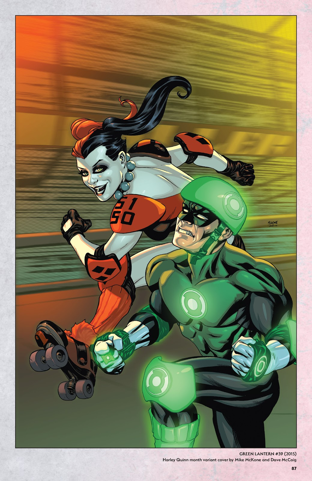 Read online Harley Quinn: A Rogue's Gallery―The Deluxe Cover Art Collection comic -  Issue # TPB (Part 1) - 84