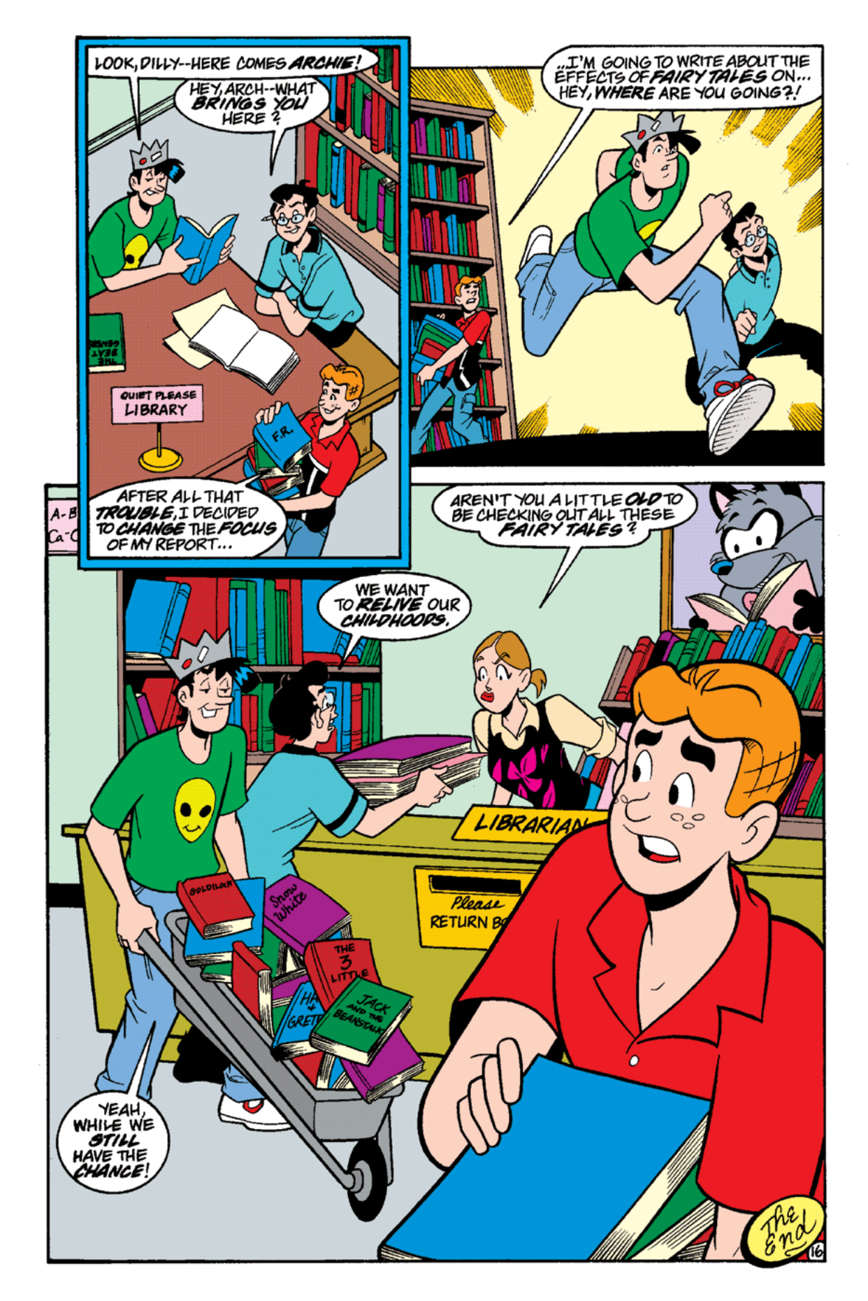 Read online Archie's Weird Mysteries comic -  Issue #15 - 18
