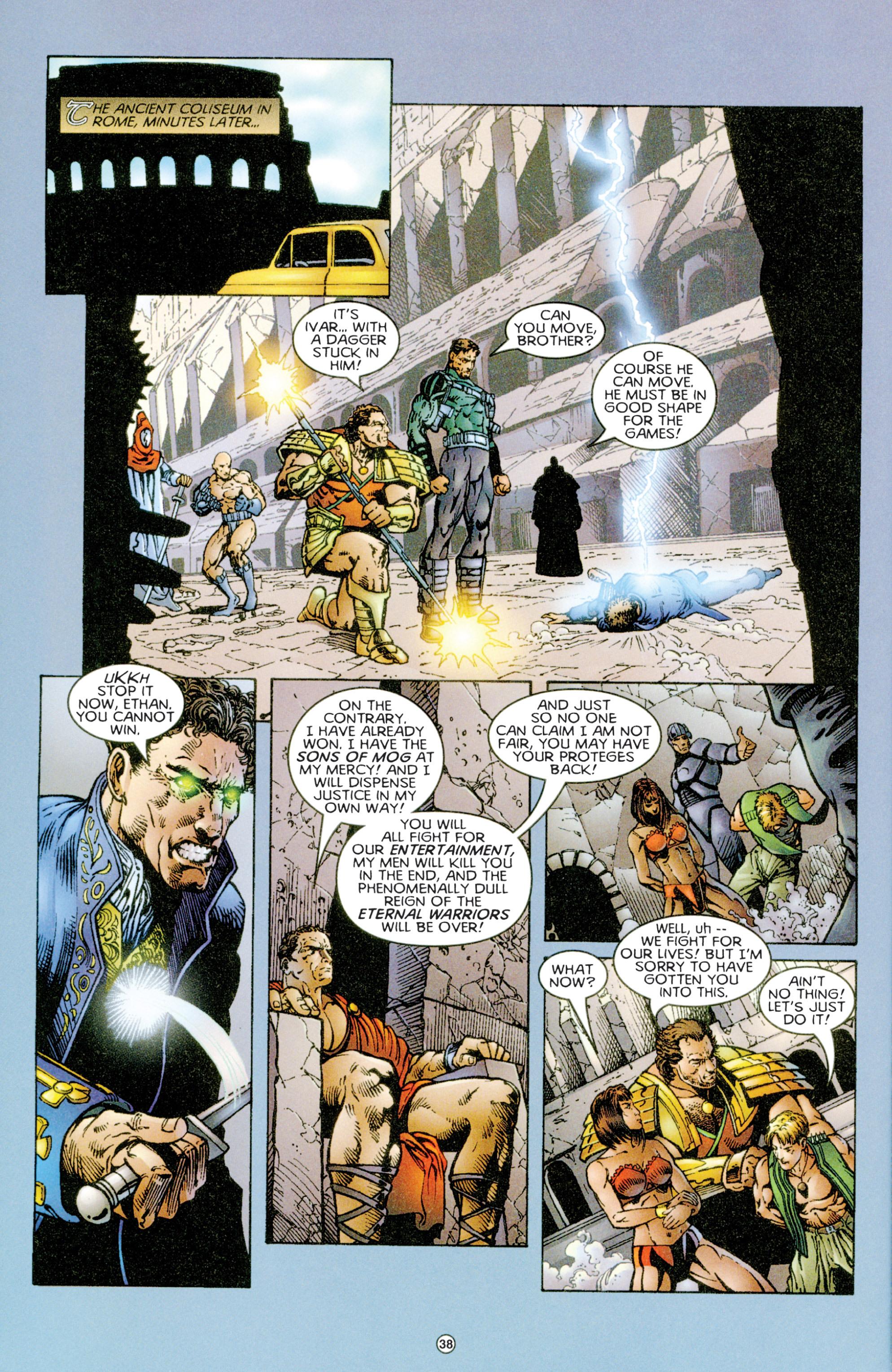 Read online Eternal Warriors comic -  Issue # Issue Time & Treachery - 37
