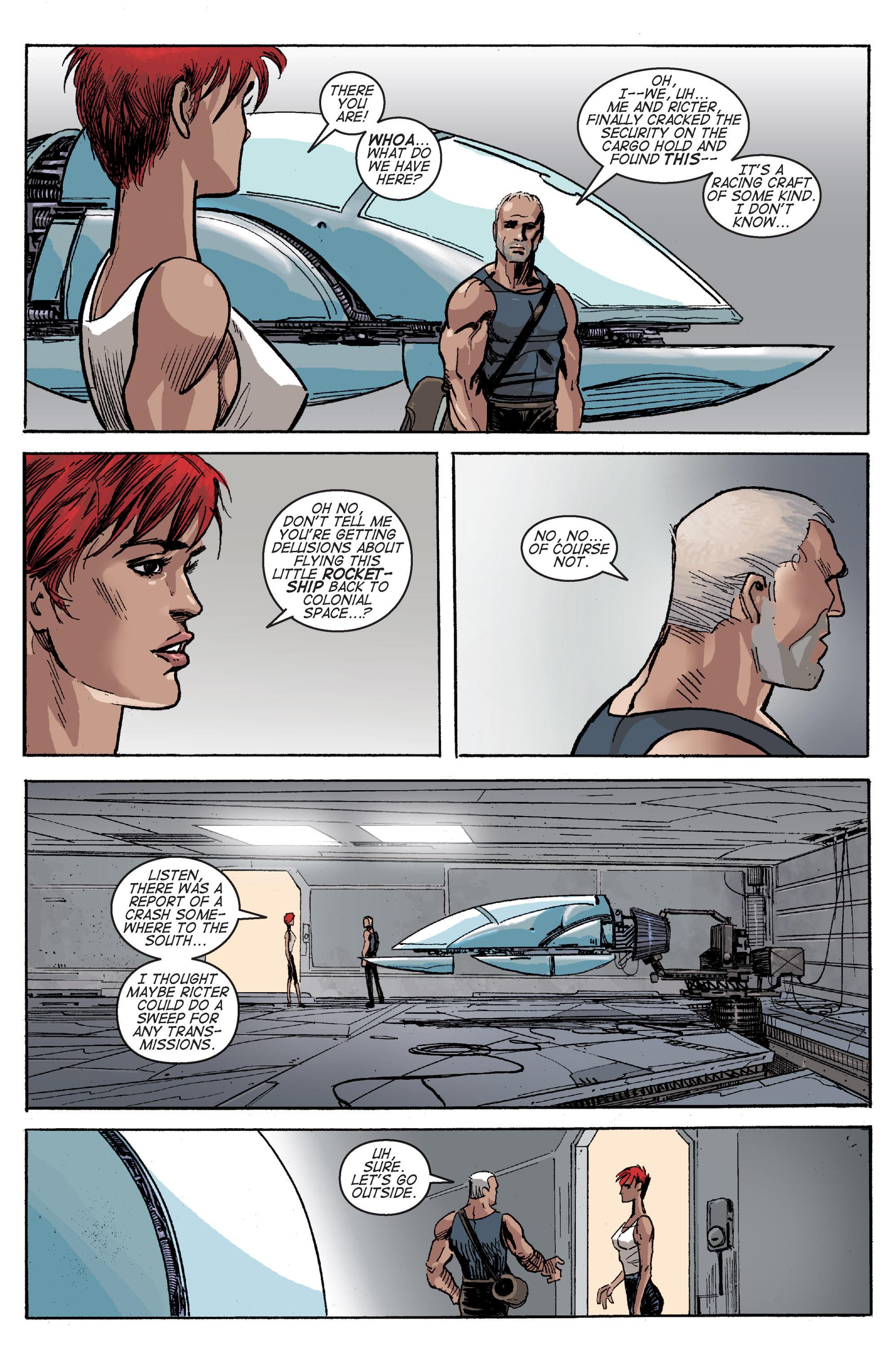 Read online Planetoid comic -  Issue # TPB - 110