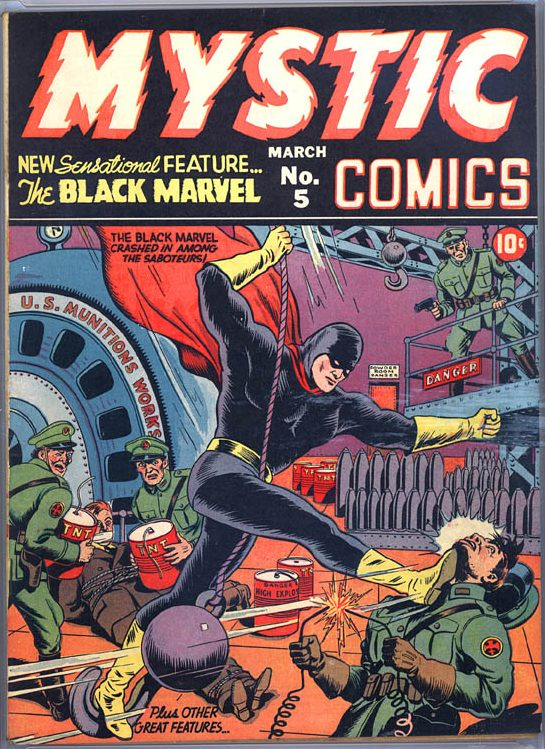 Mystic Comics (1940) issue 5 - Page 1