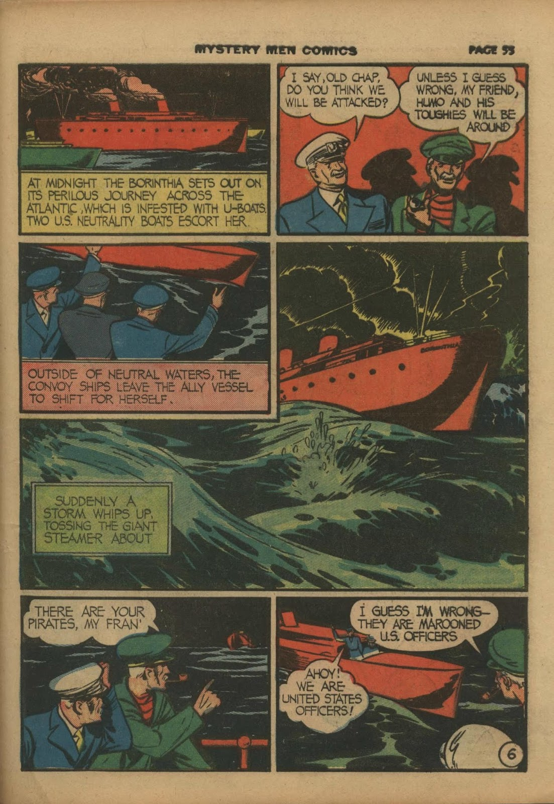 Mystery Men Comics issue 10 - Page 57